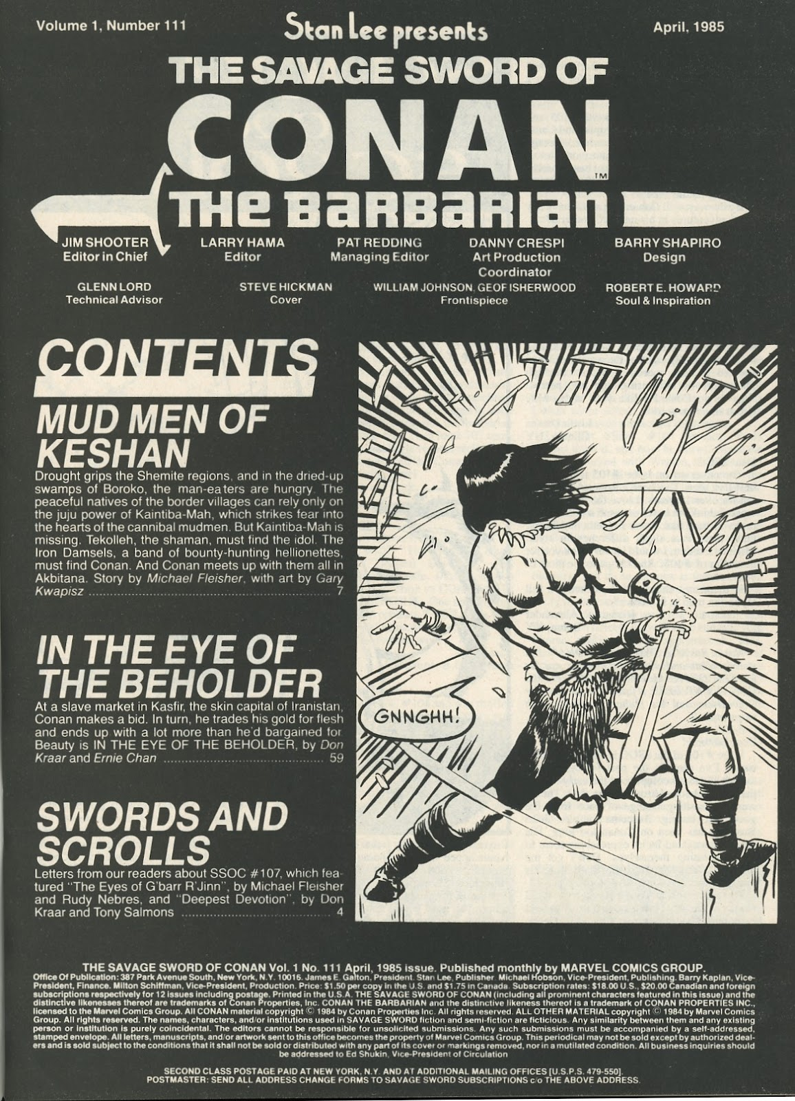 The Savage Sword Of Conan Issue #111 #112 - English 3