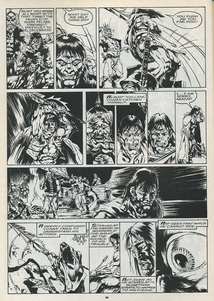 The Savage Sword Of Conan Issue #175 #176 - English 48