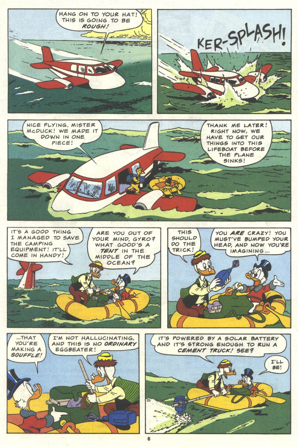 Uncle Scrooge (1953) Issue #259 #259 - English 7