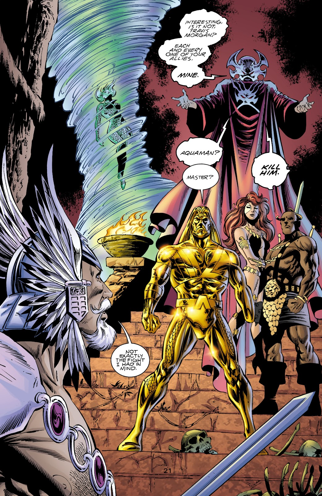 Aquaman (1994) Issue #72 #78 - English 20