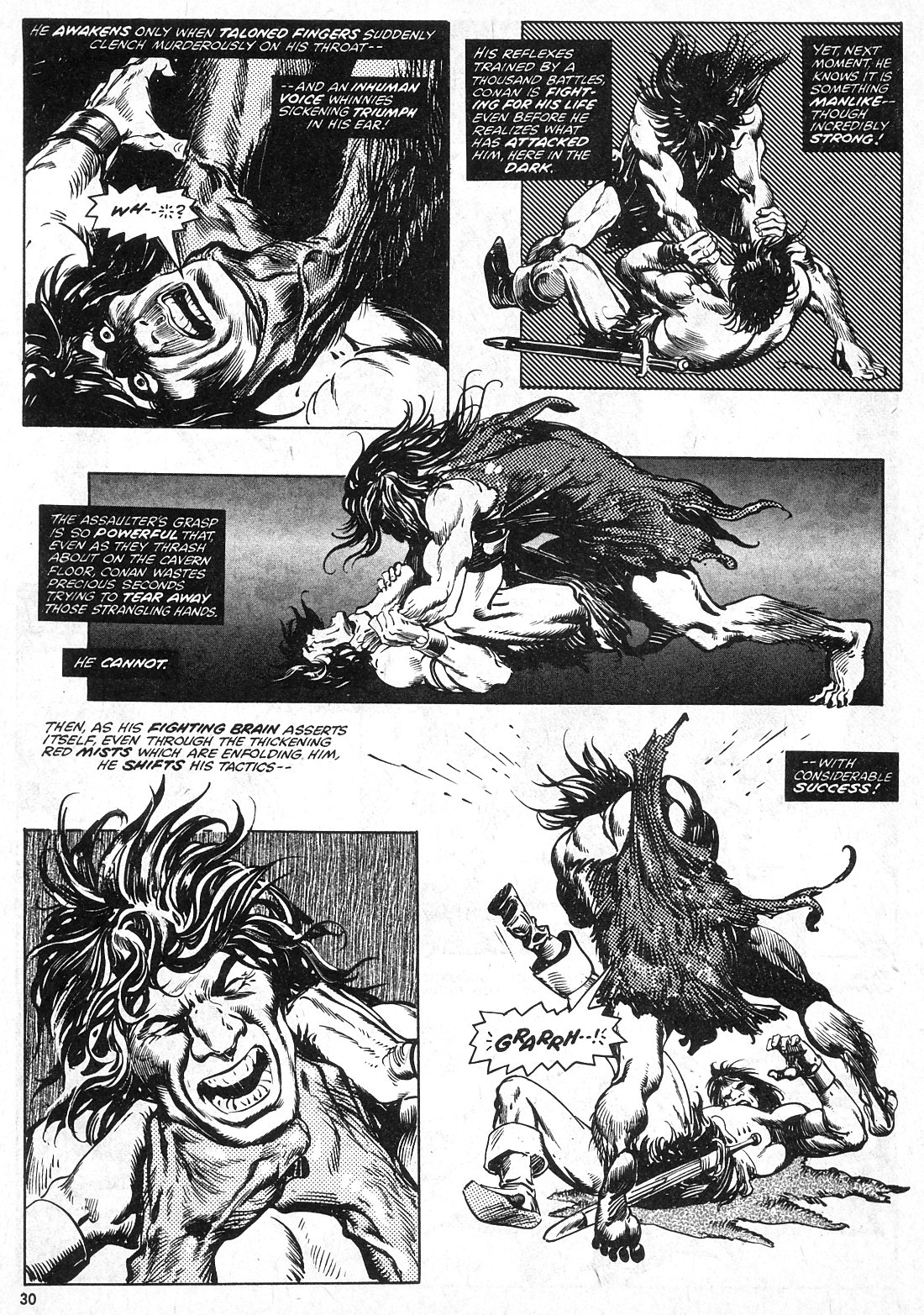 The Savage Sword Of Conan Issue #28 #29 - English 30