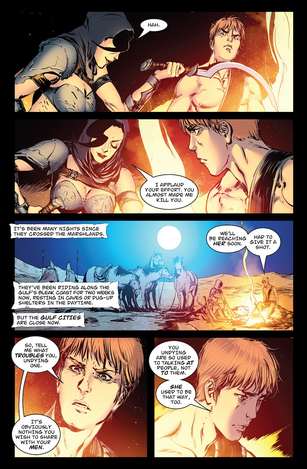 Queen of Vampires Issue #7 #7 - English 4