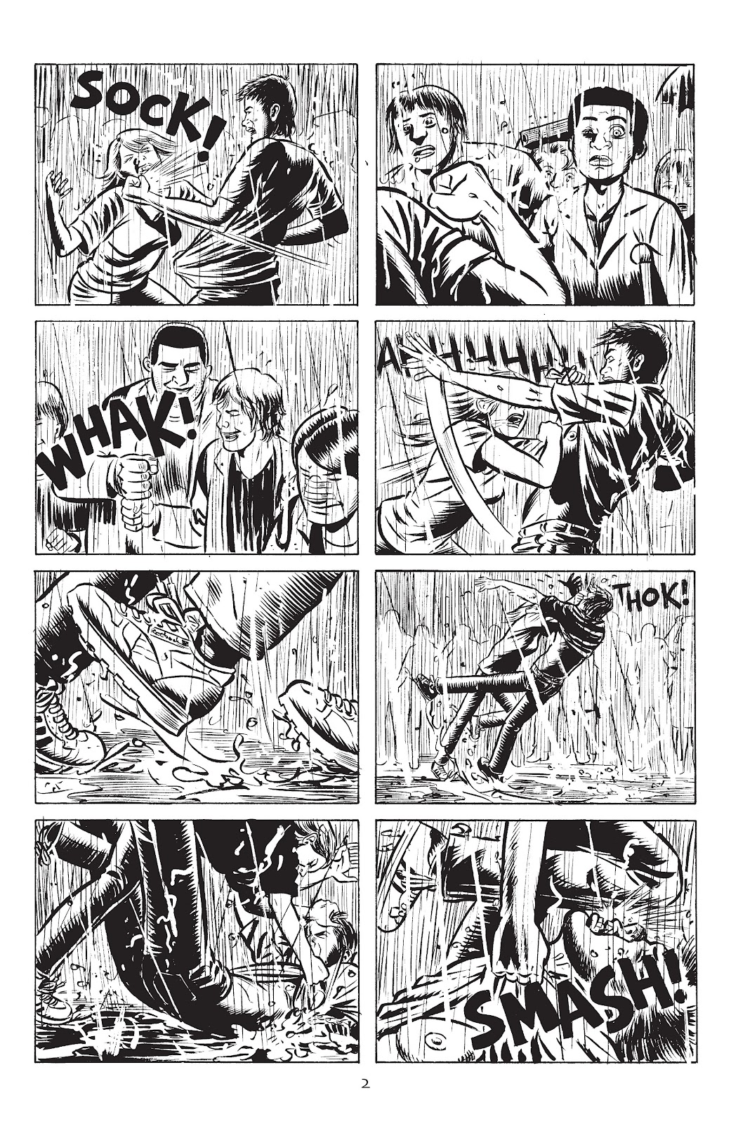 Stray Bullets Issue #33 #33 - English 4