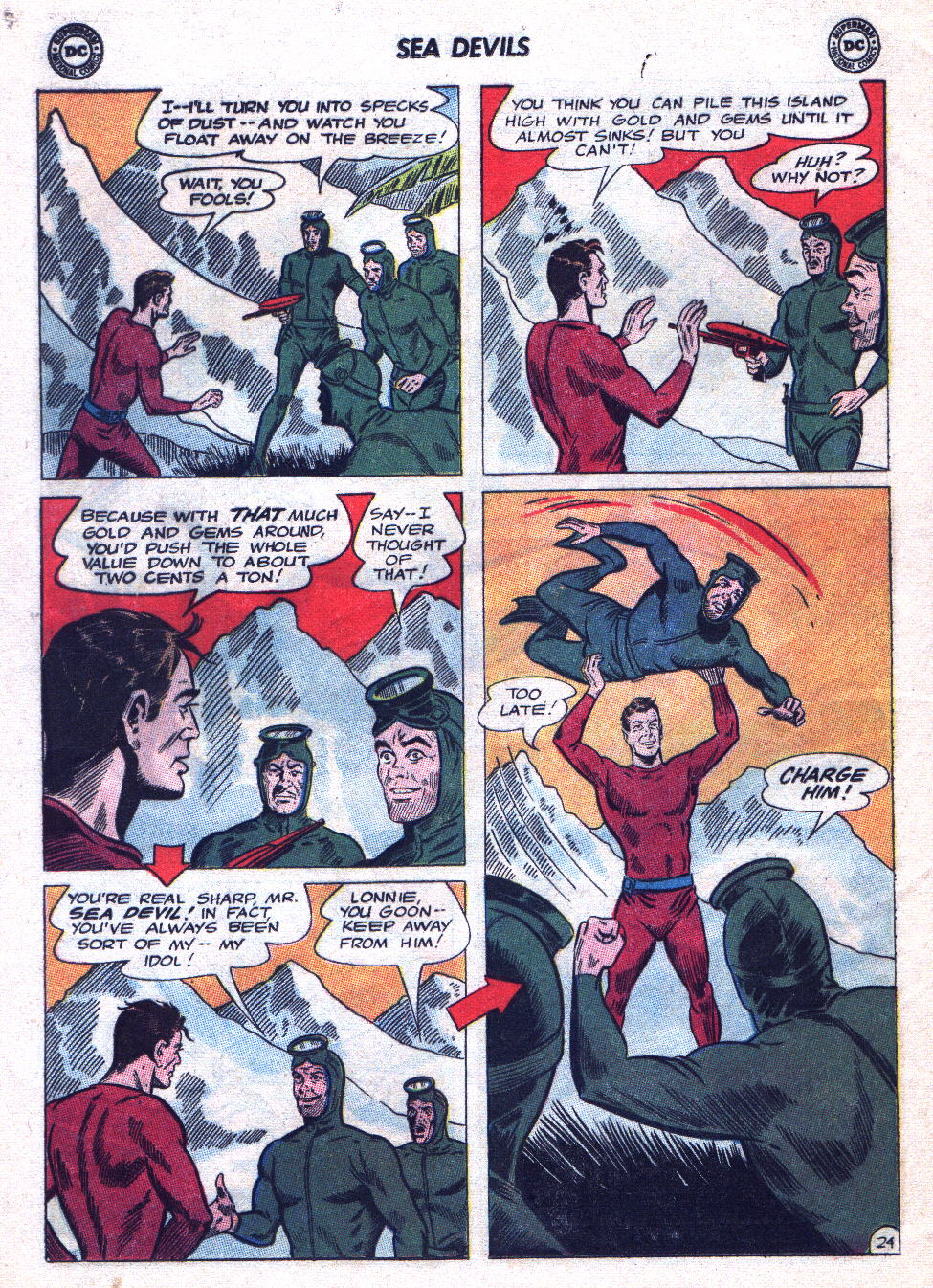 Read online Sea Devils comic -  Issue #20 - 32