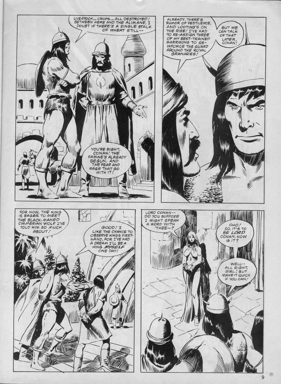 The Savage Sword Of Conan Issue #61 #62 - English 9