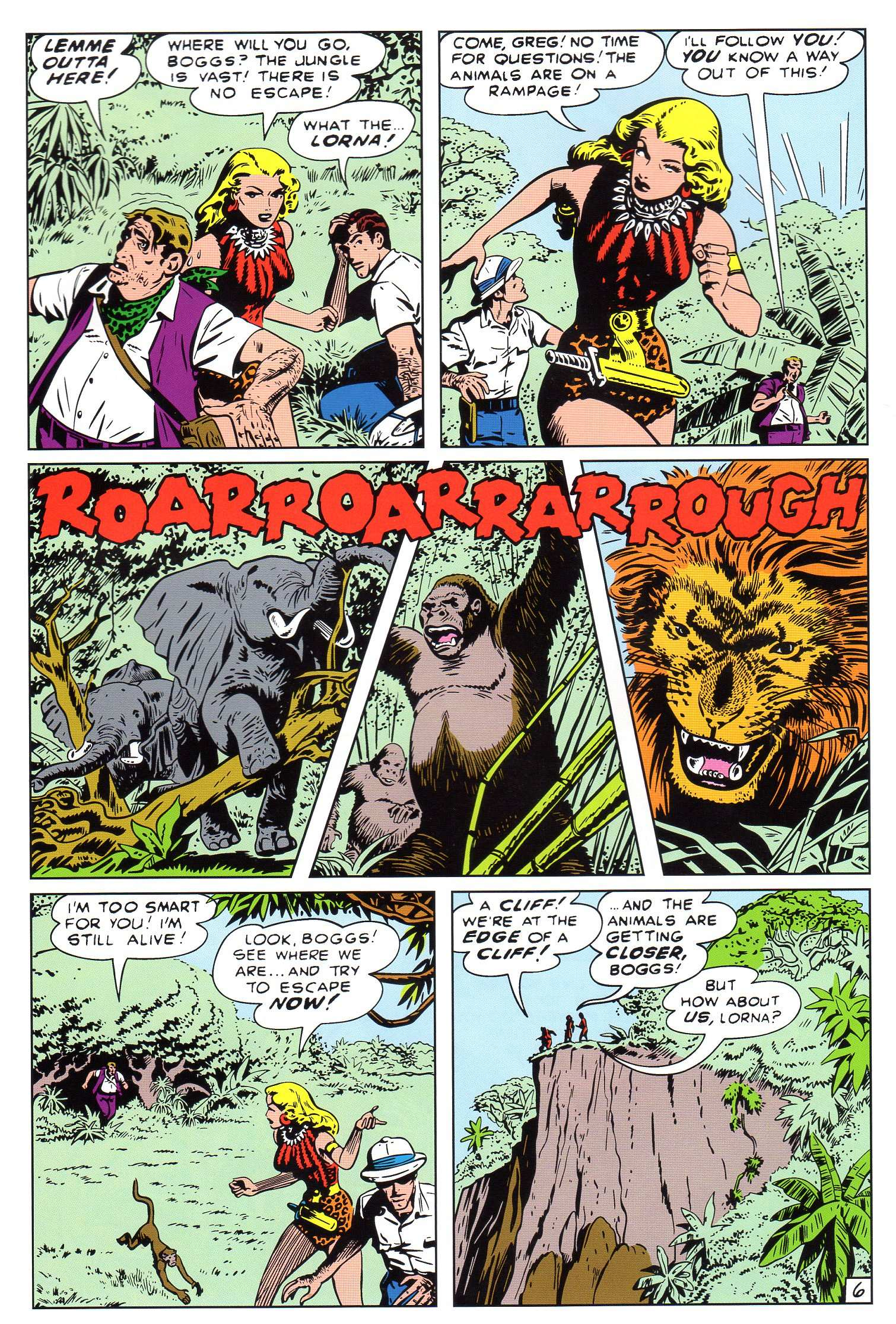 Read online Lorna, The Jungle Queen comic -  Issue #4 - 7