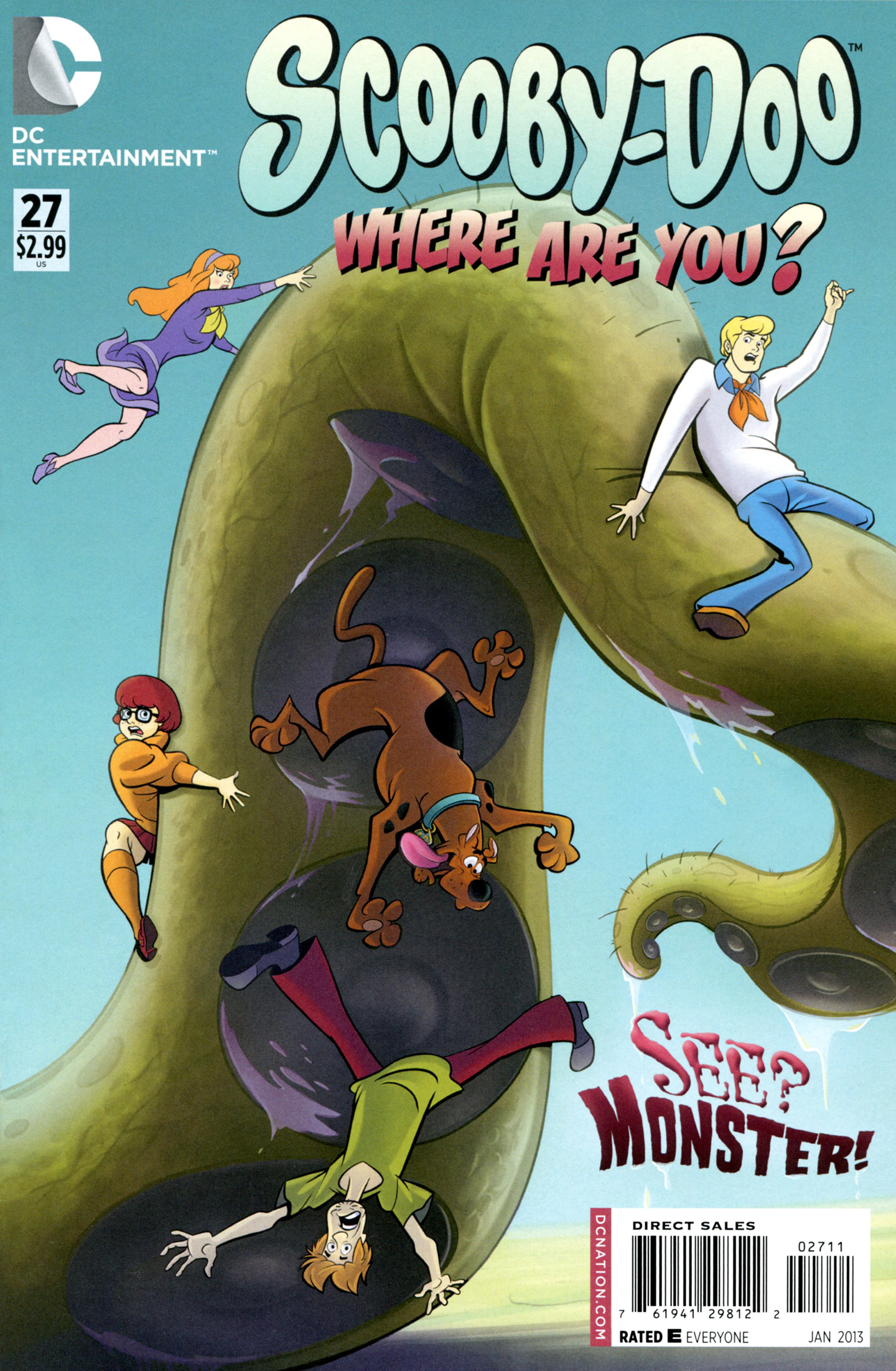 Read online Scooby-Doo: Where Are You? comic -  Issue #27 - 1
