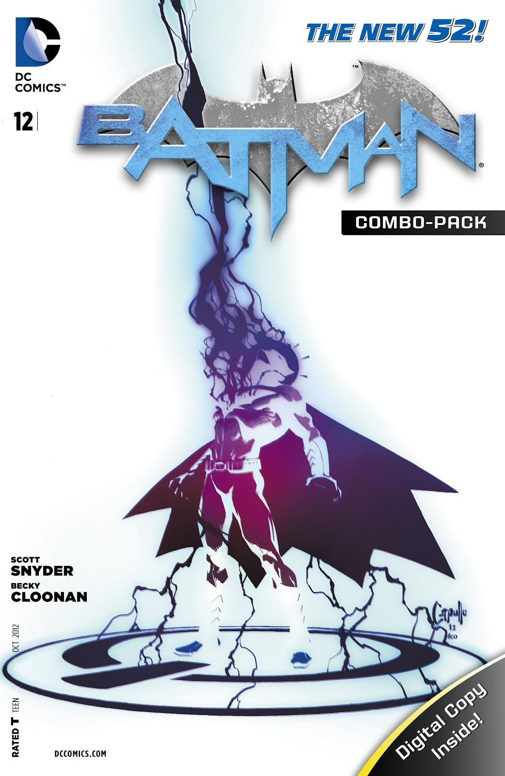 Batman (2011) Issue #12 #27 - English 32