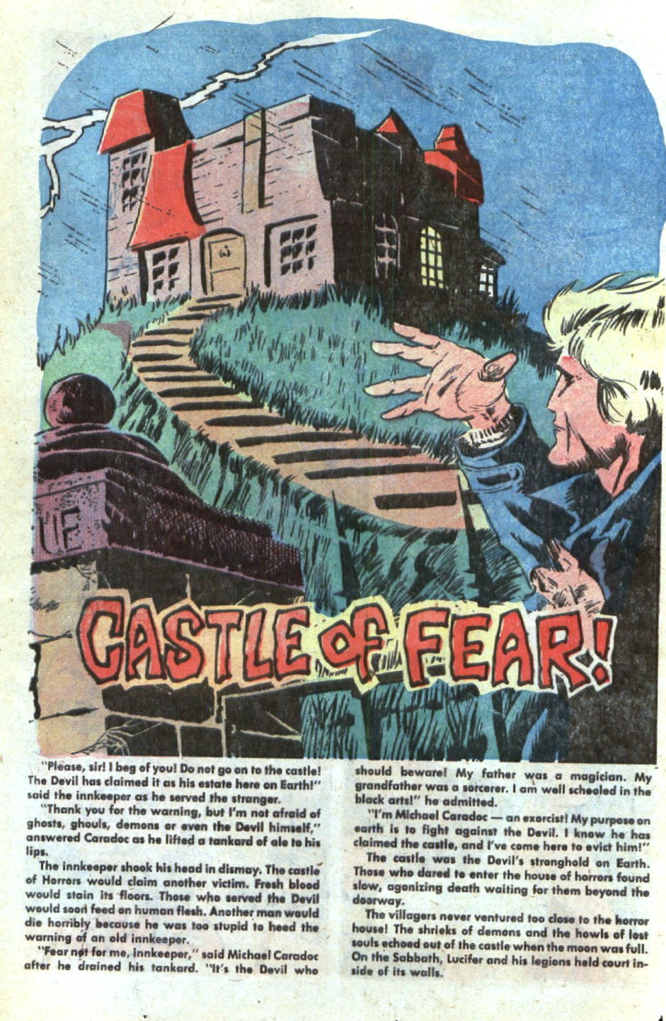 Read online Scary Tales comic -  Issue #4 - 20