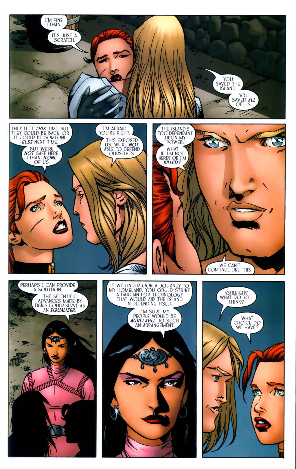 Read online Scion comic -  Issue #30 - 23