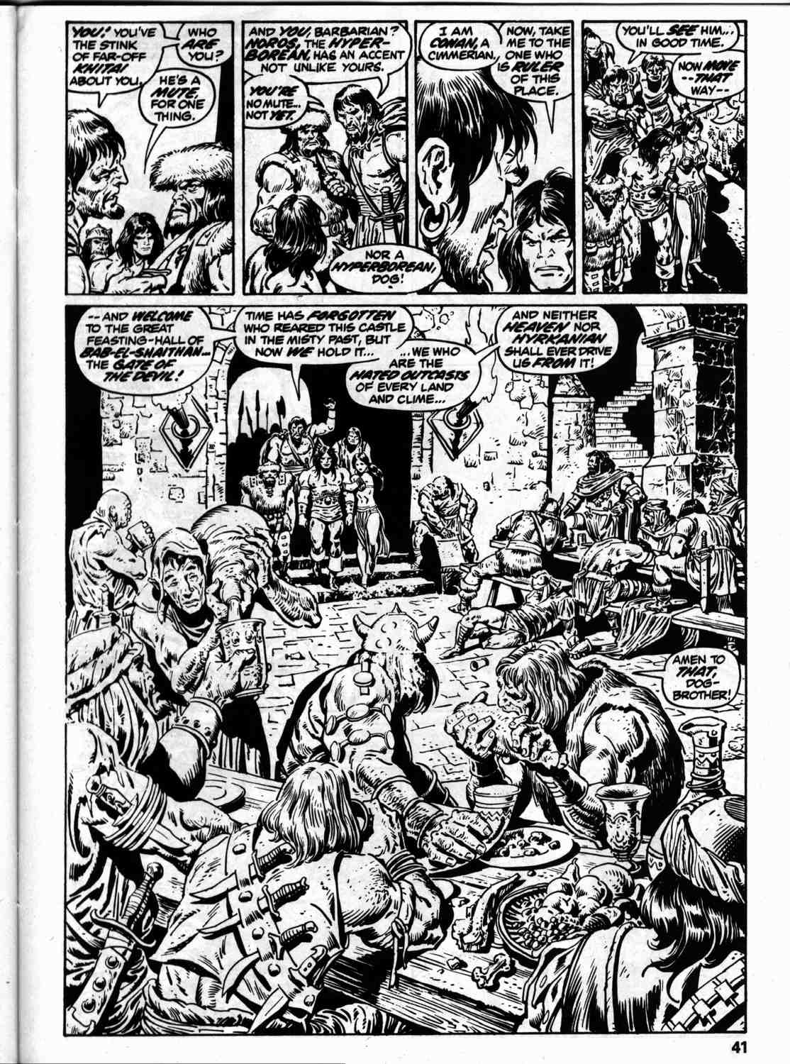 The Savage Sword Of Conan Issue #59 #60 - English 48