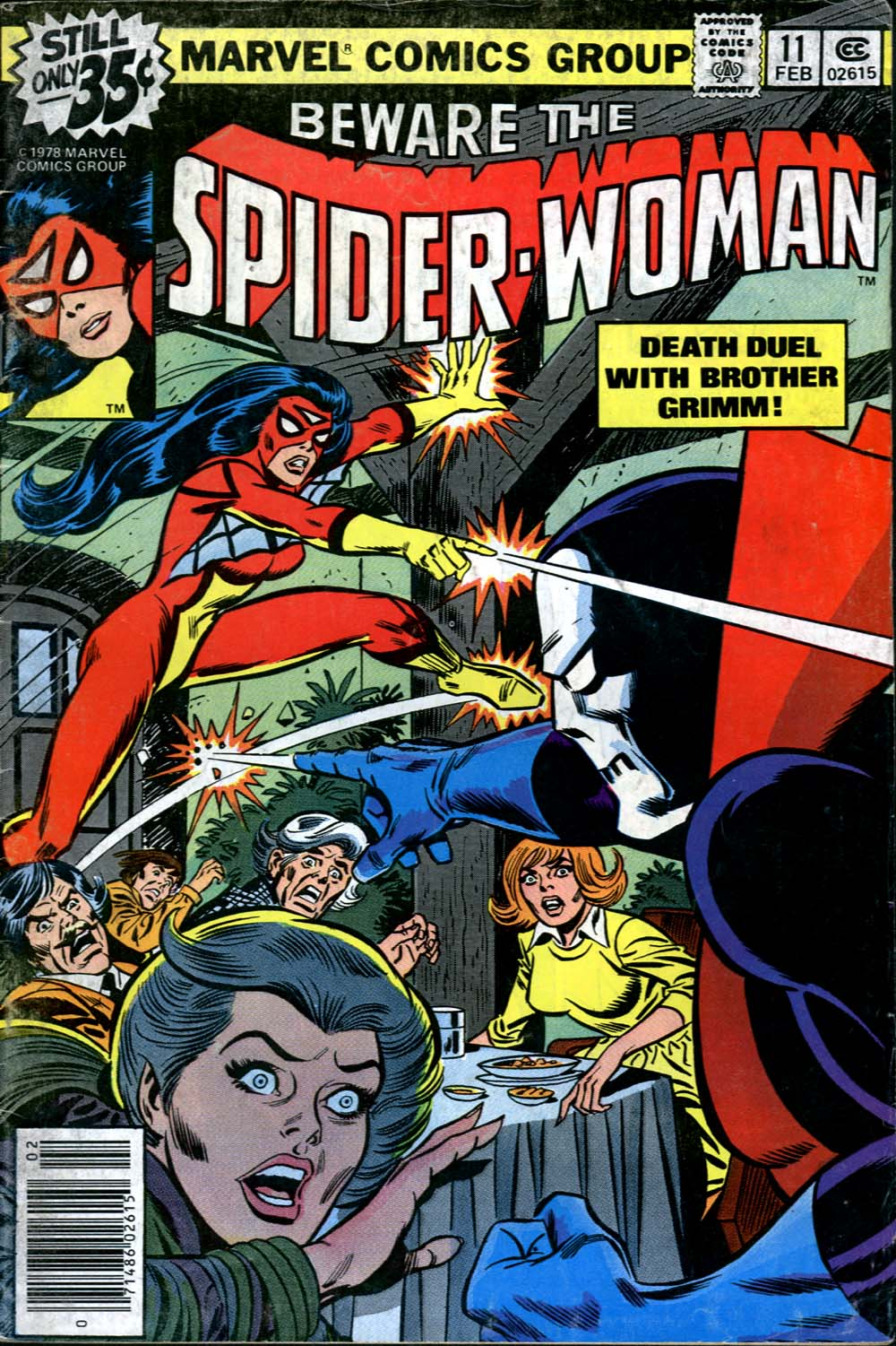 Spider-Woman (1978) Issue #11 #11 - English 1