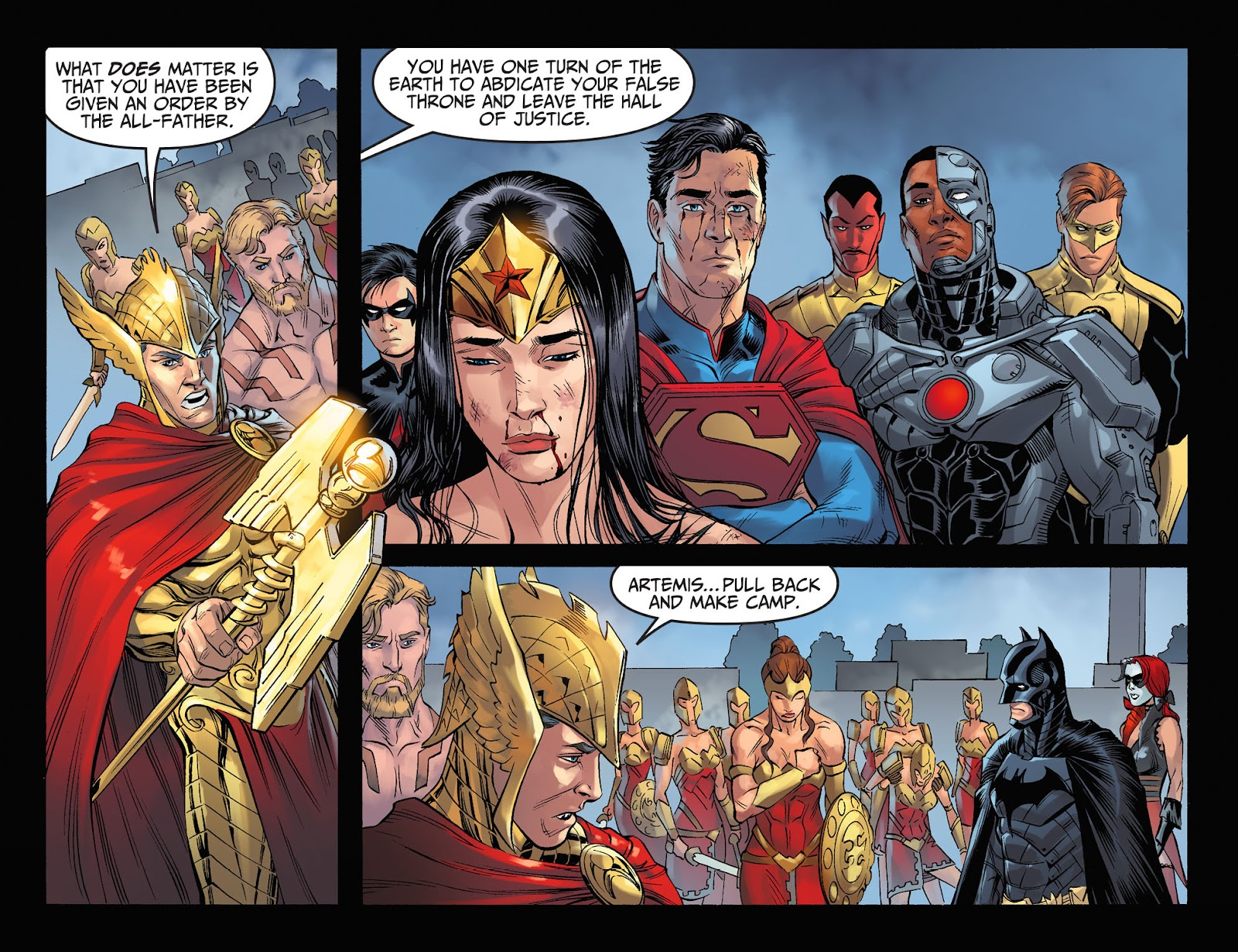 Injustice: Gods Among Us Year Four Issue #11 #12 - English 20