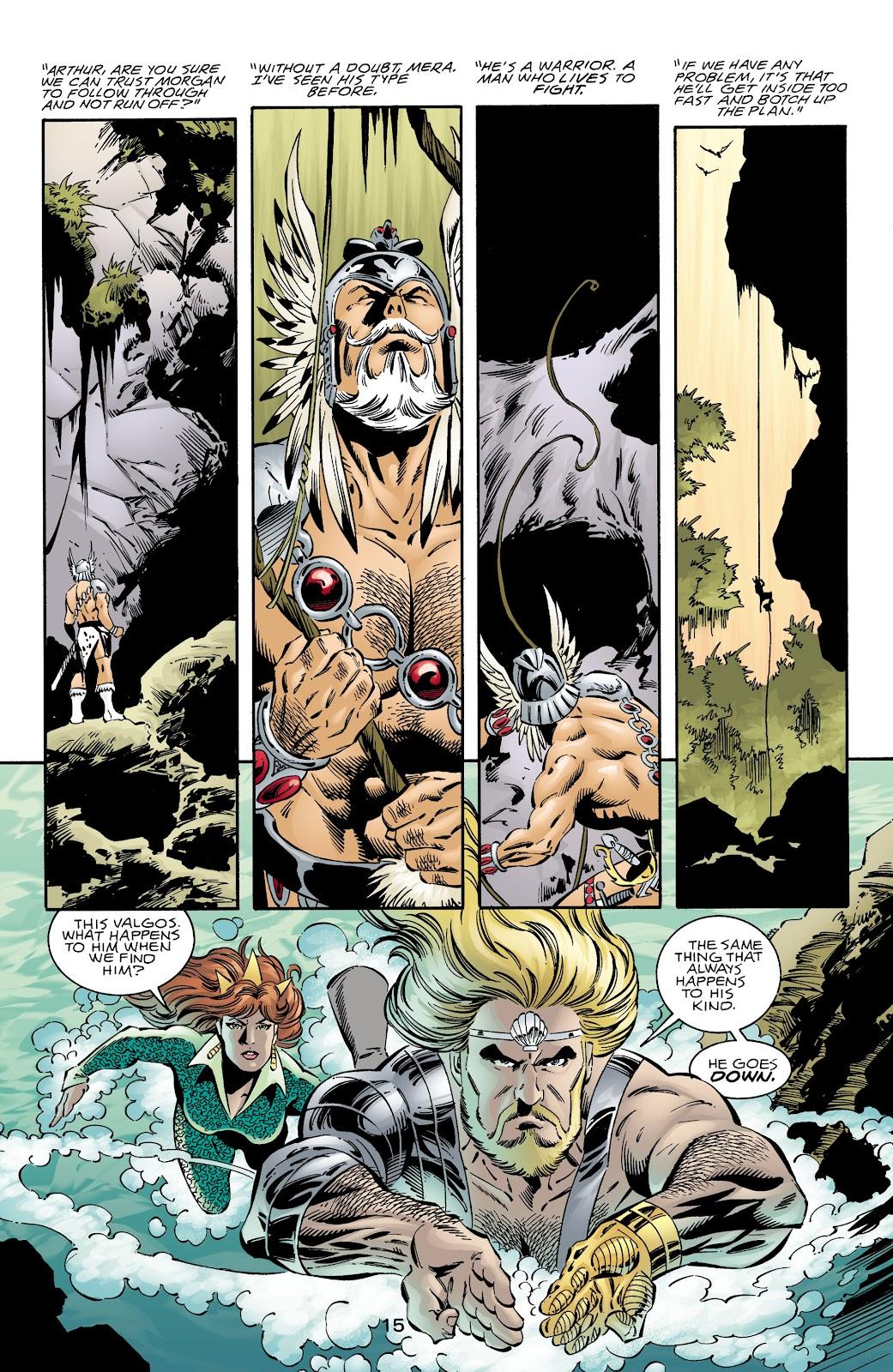 Aquaman (1994) Issue #72 #78 - English 14