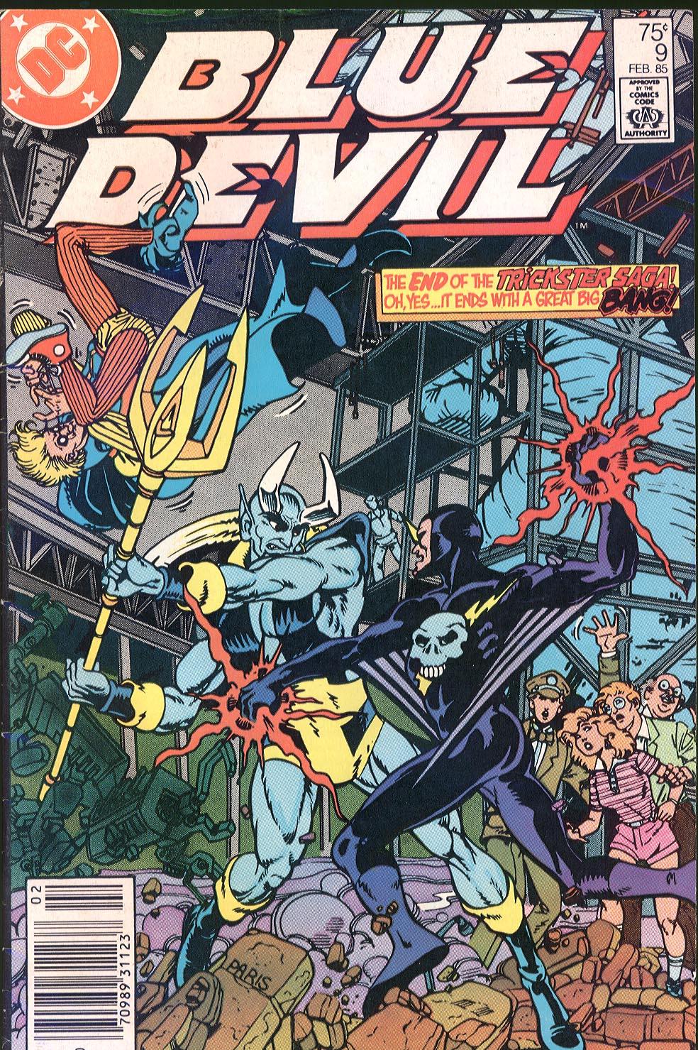Blue Devil 9 Page 1