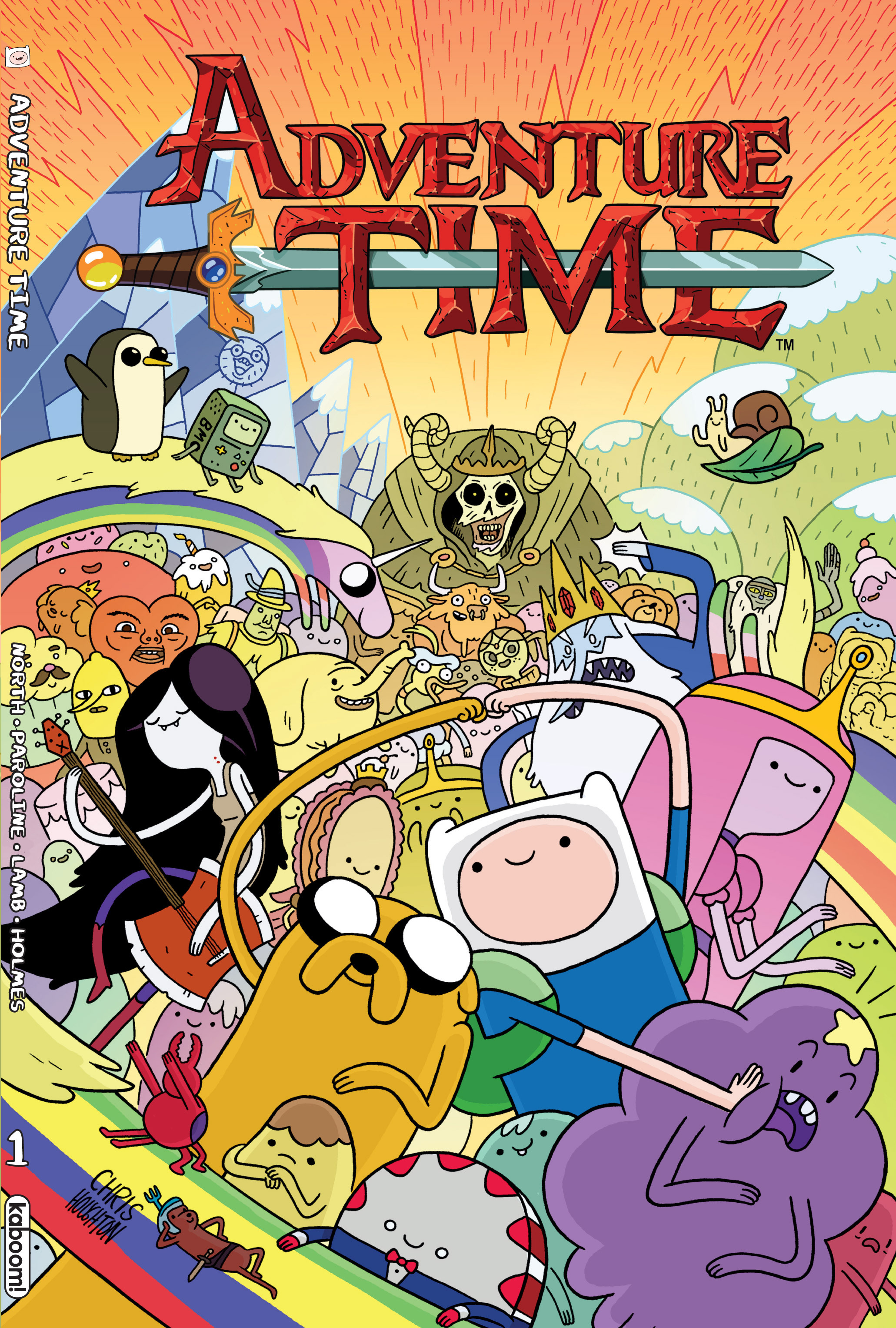 Adventure Time _TPB_1 Page 1