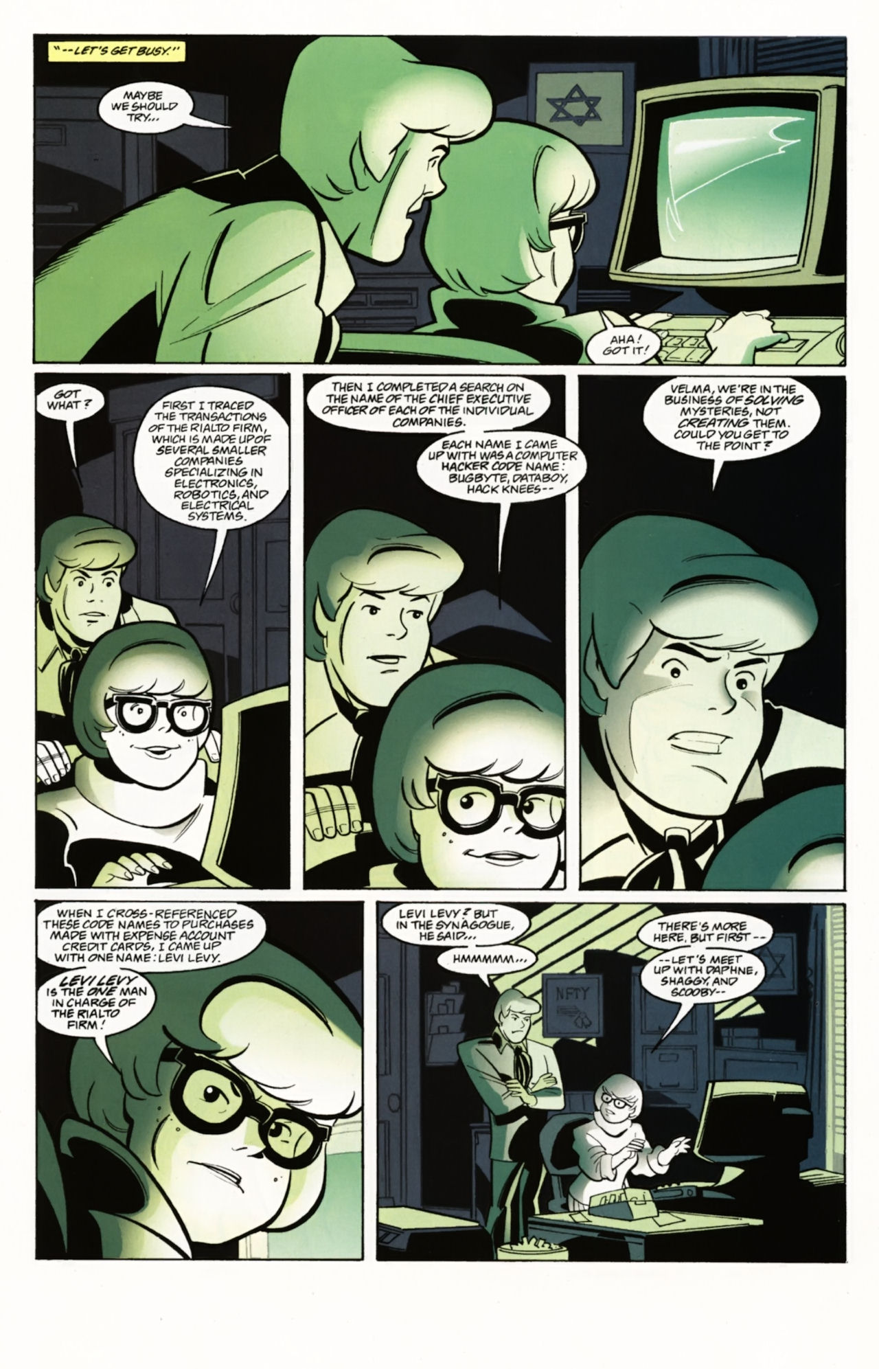 Read online Scooby-Doo: Where Are You? comic -  Issue #4 - 20