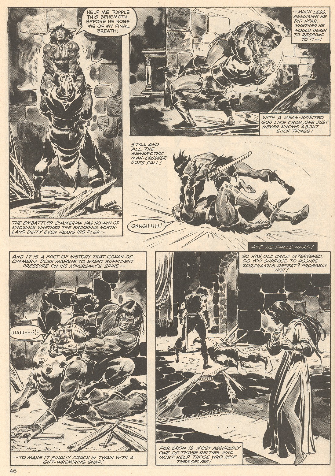 The Savage Sword Of Conan Issue #76 #77 - English 46