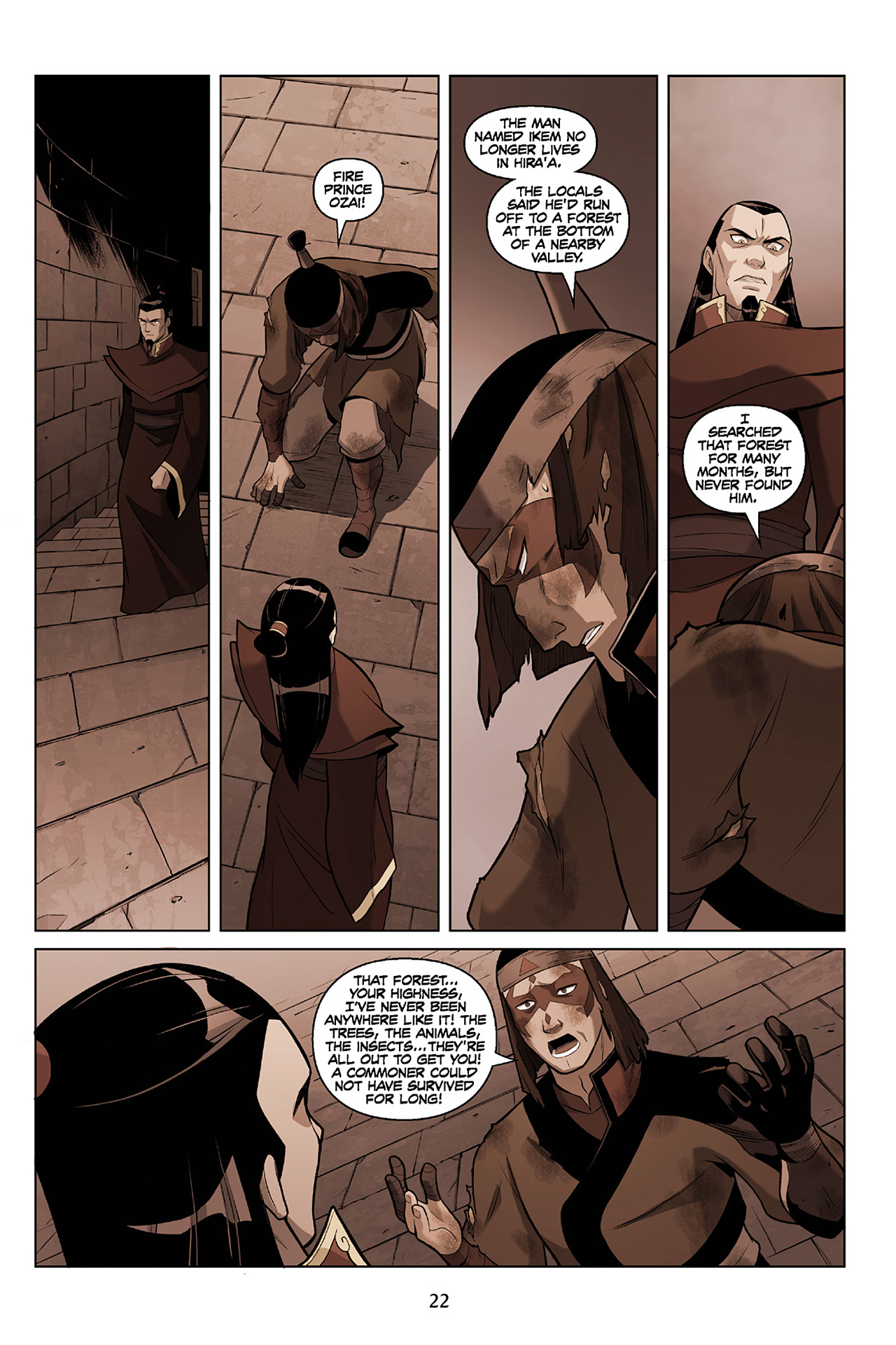 Read online Nickelodeon Avatar: The Last Airbender - The Search comic -  Issue # Part 2 - 23