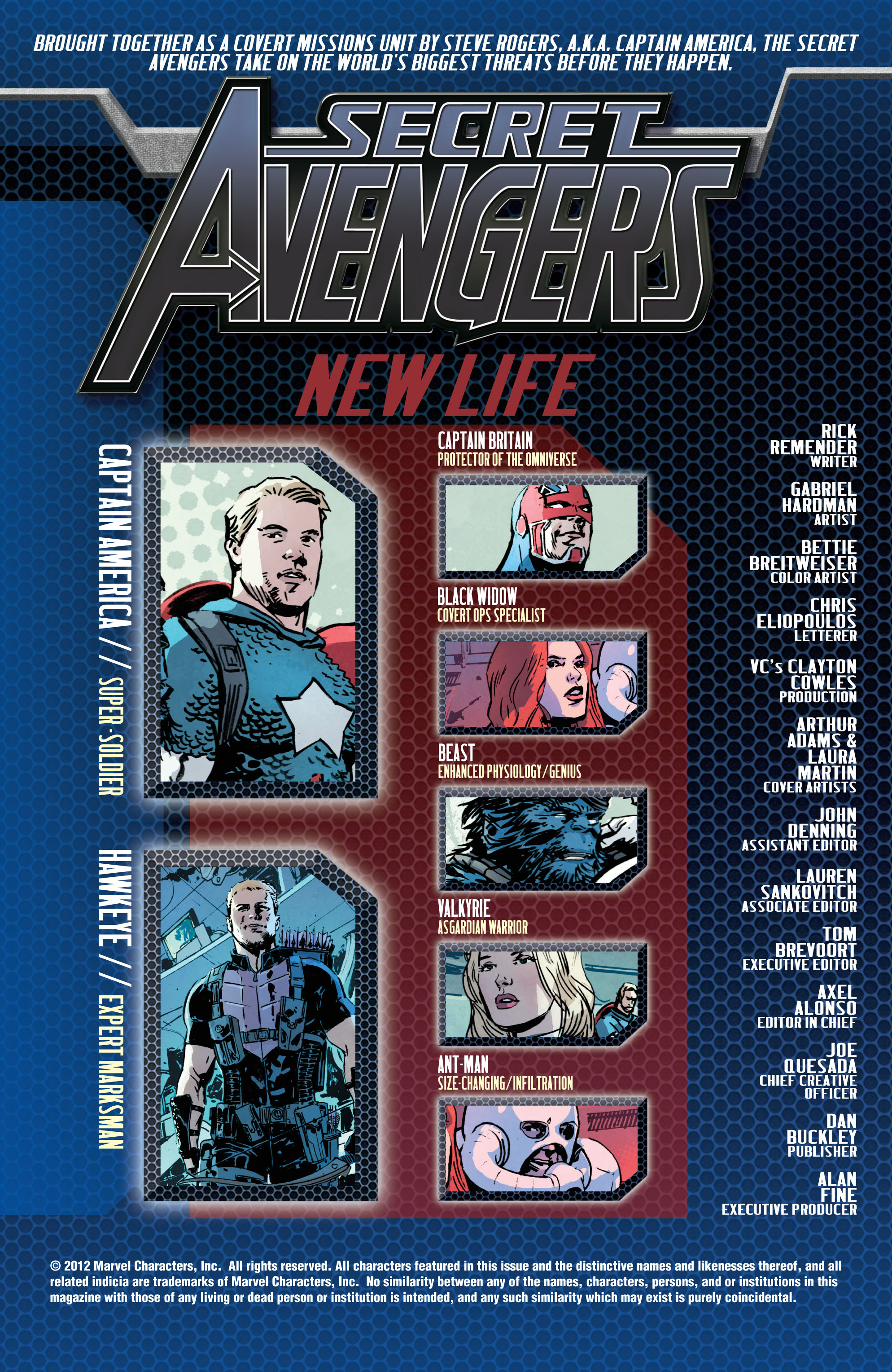 Read online Secret Avengers (2010) comic -  Issue #22 - 2