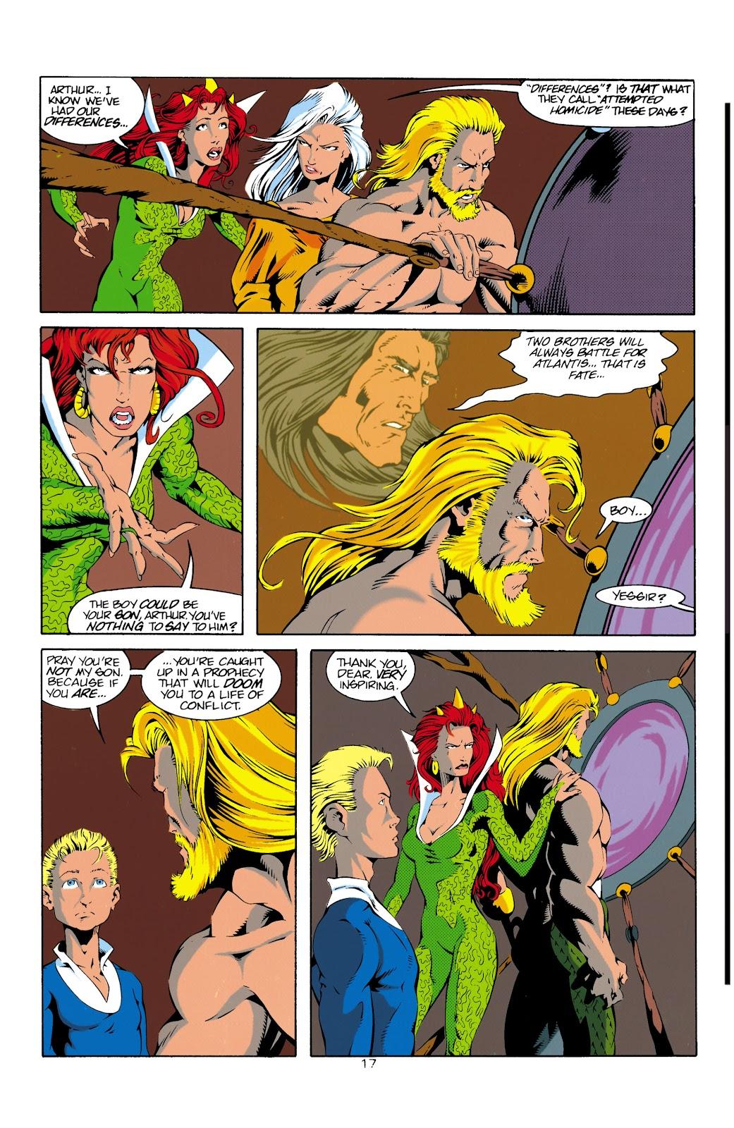 Aquaman (1994) Issue #14 #20 - English 18