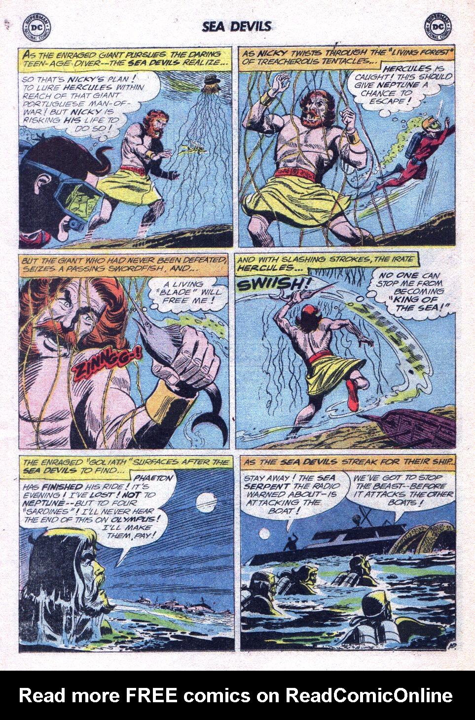Read online Sea Devils comic -  Issue #14 - 14