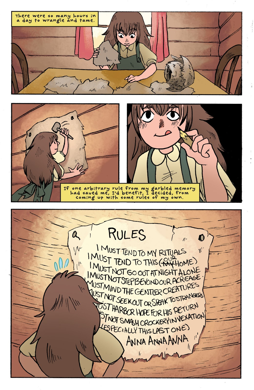 Over the Garden Wall (2016) Issue #1 #1 - English 17
