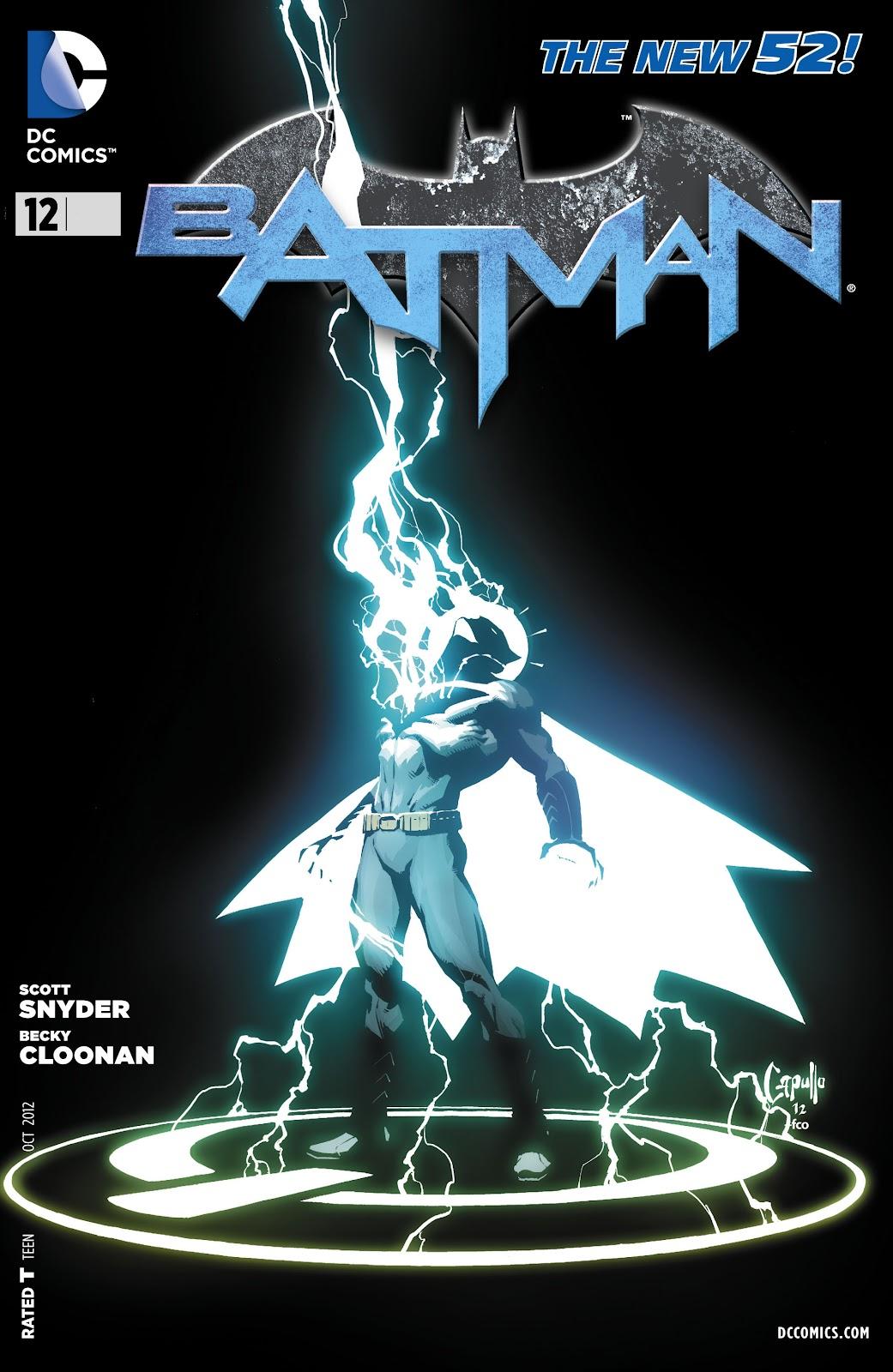 Batman (2011) Issue #12 #27 - English 1
