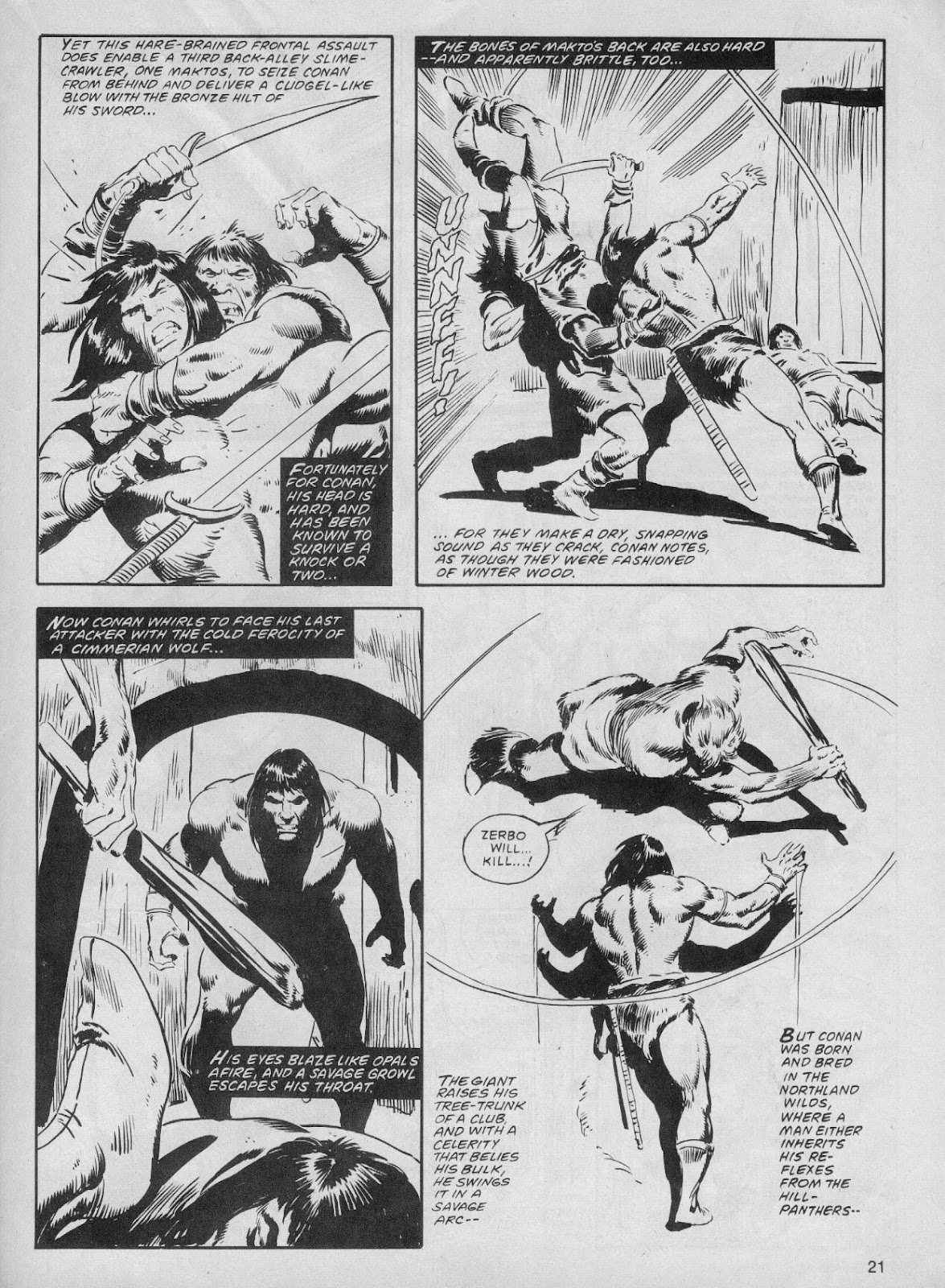 The Savage Sword Of Conan Issue #61 #62 - English 21