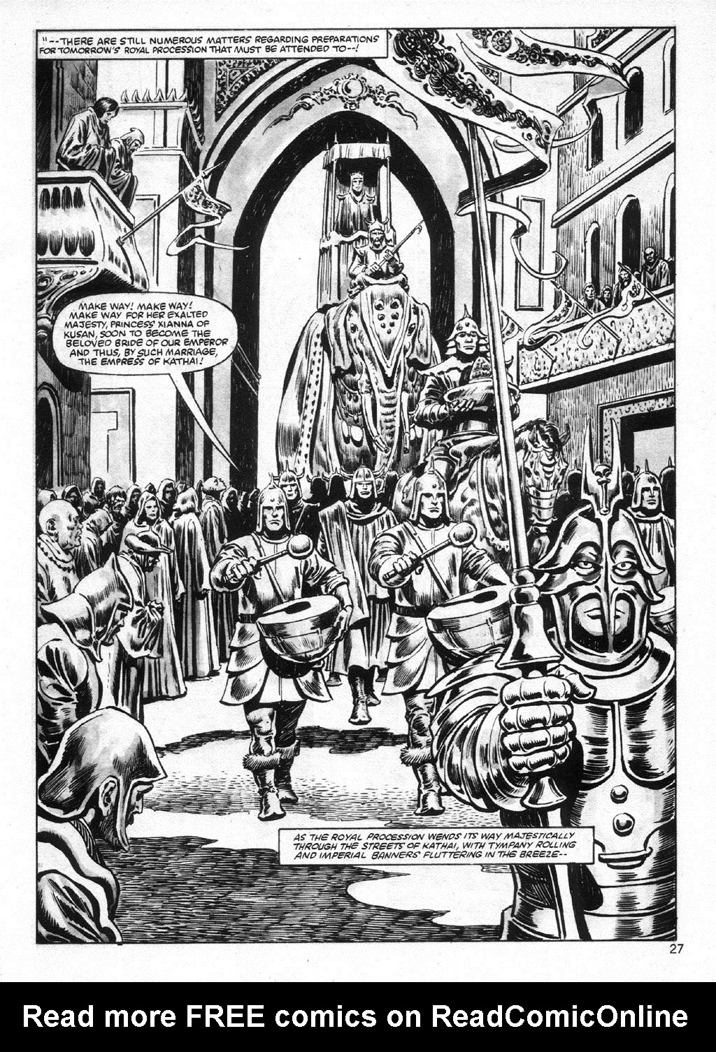 The Savage Sword Of Conan Issue #95 #96 - English 27