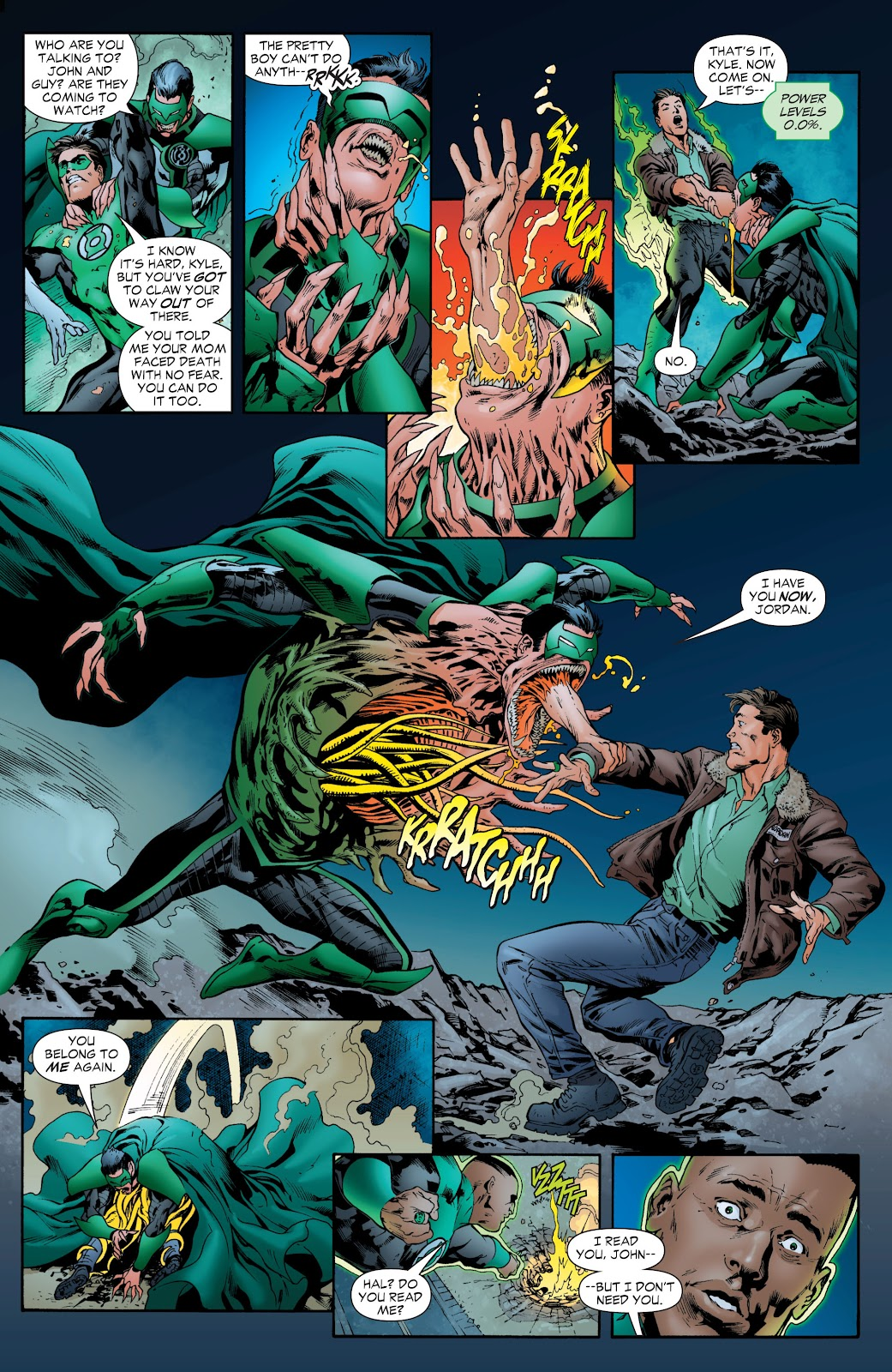 Green Lantern: The Sinestro Corps War Full #1 - English 189