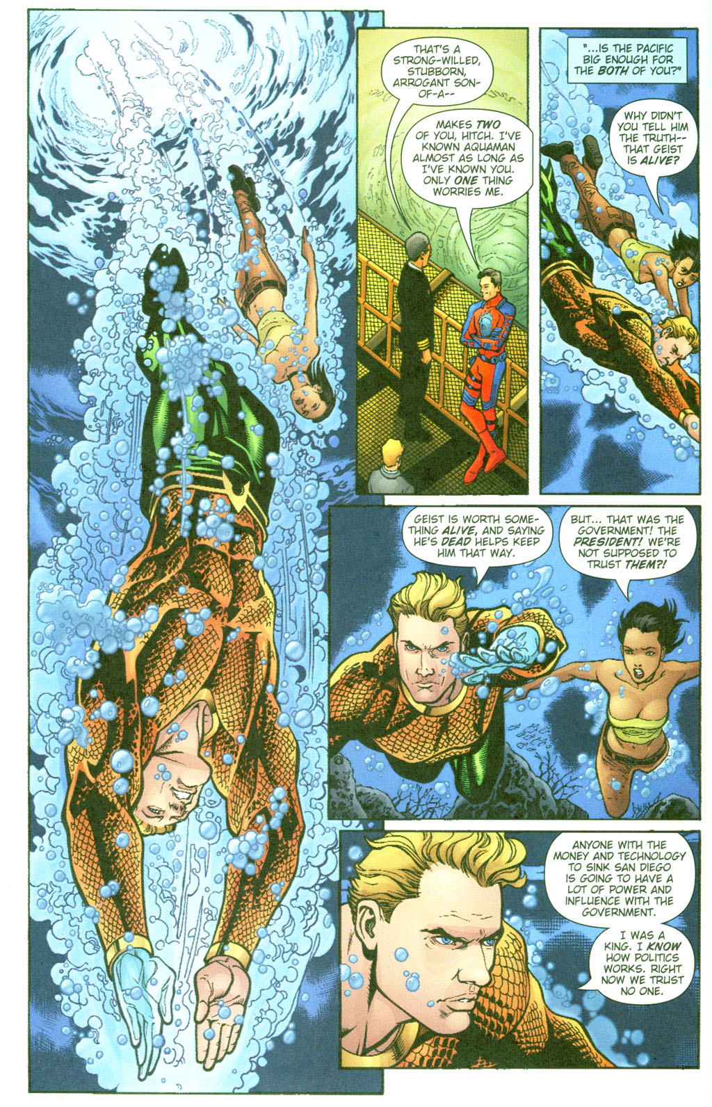 Aquaman (2003) Issue #23 #23 - English 10