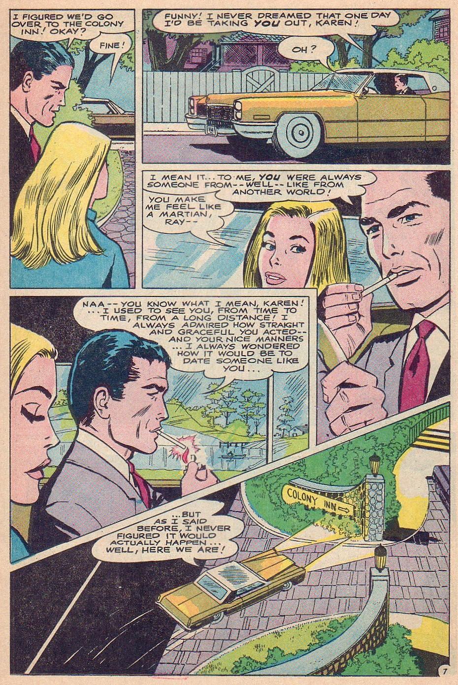 Read online Secret Hearts comic -  Issue #124 - 23
