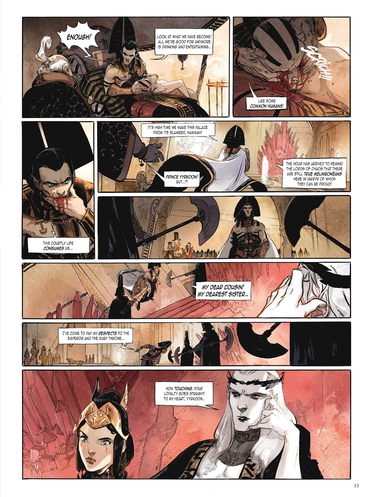 Elric (2014) TPB 1 #1 - English 14