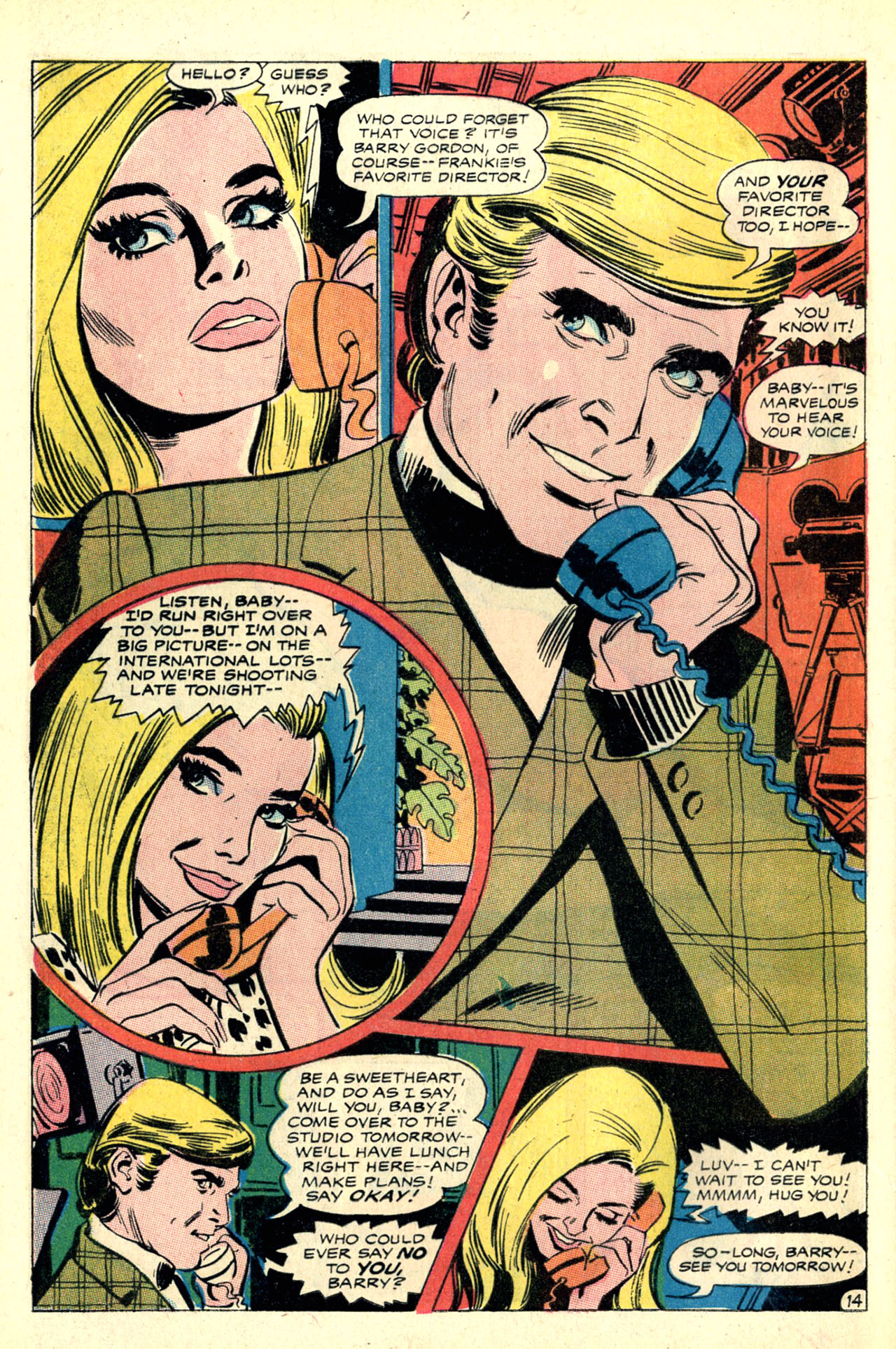 Read online Secret Hearts comic -  Issue #127 - 32