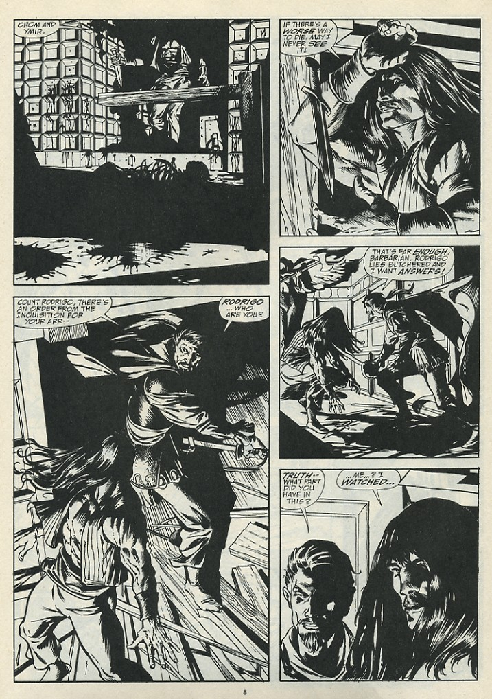The Savage Sword Of Conan Issue #185 #186 - English 10