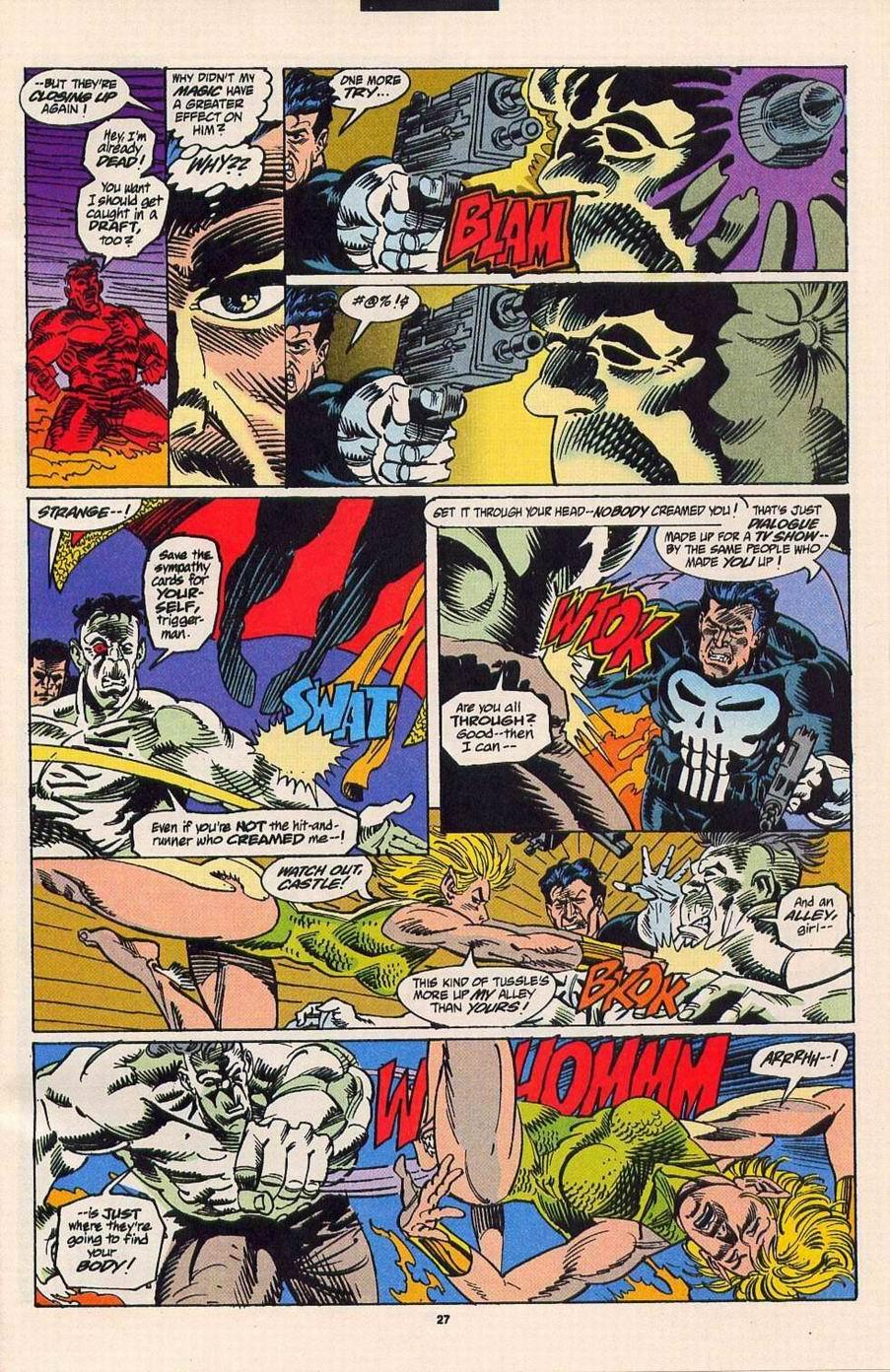 Read online Secret Defenders comic -  Issue #4 - 21