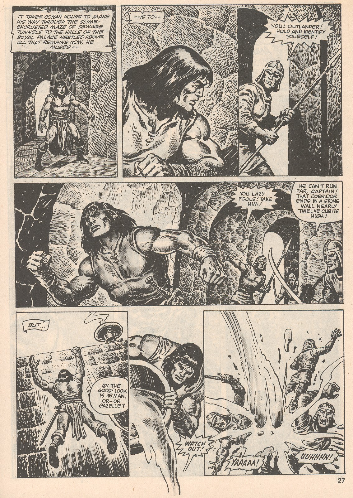 The Savage Sword Of Conan Issue #104 #105 - English 27