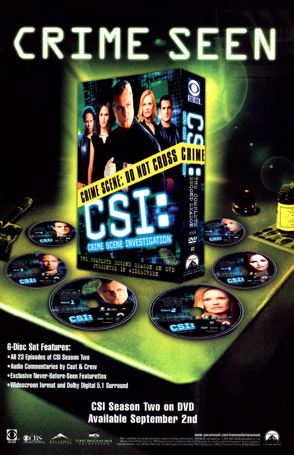 Read online CSI: Crime Scene Investigation: Bad Rap comic -  Issue #5 - 34