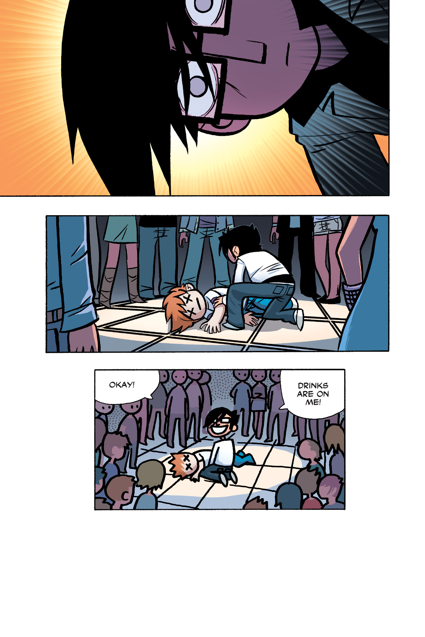 Read online Scott Pilgrim comic -  Issue #6 - 128