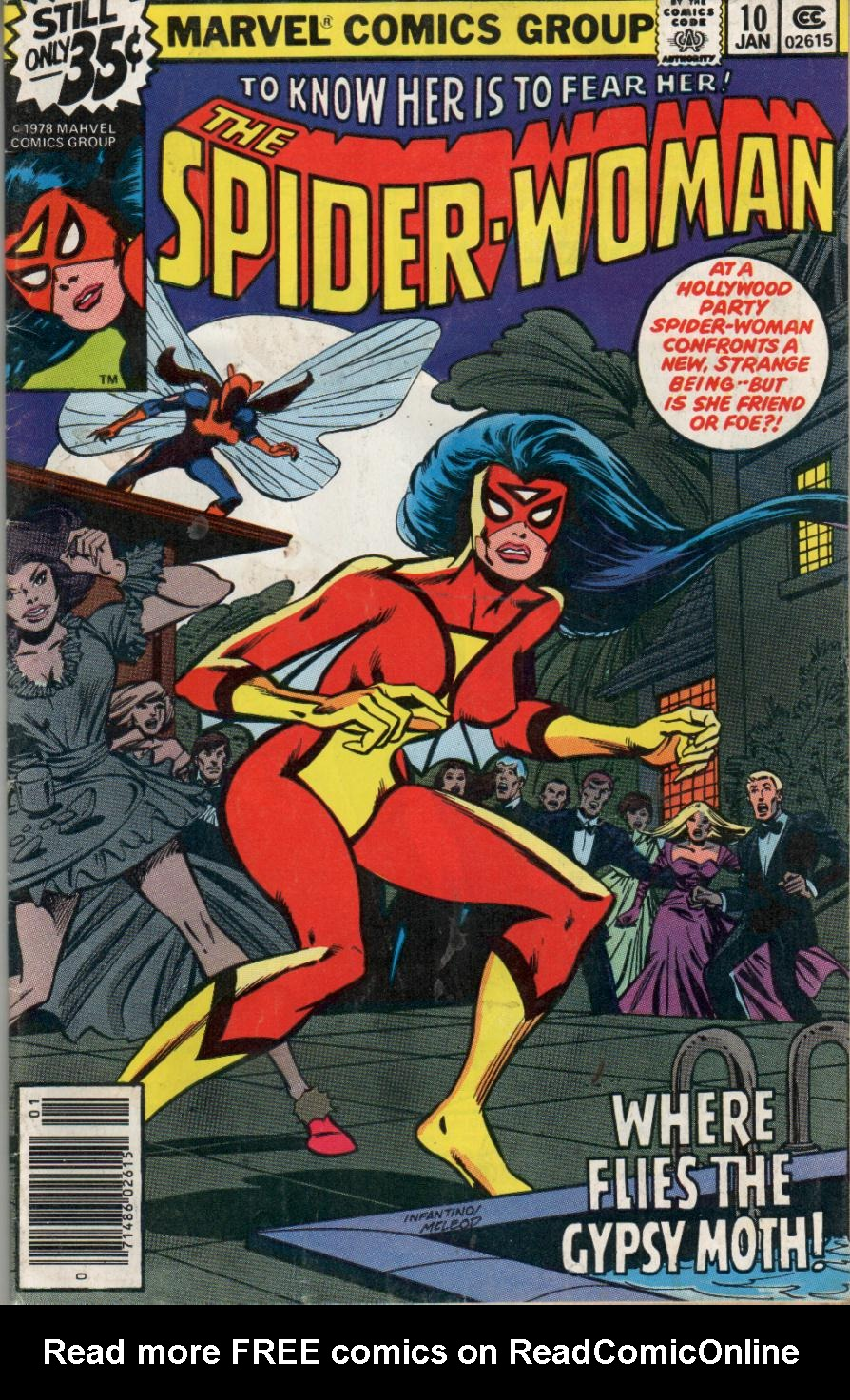 Spider-Woman (1978) Issue #10 #10 - English 1