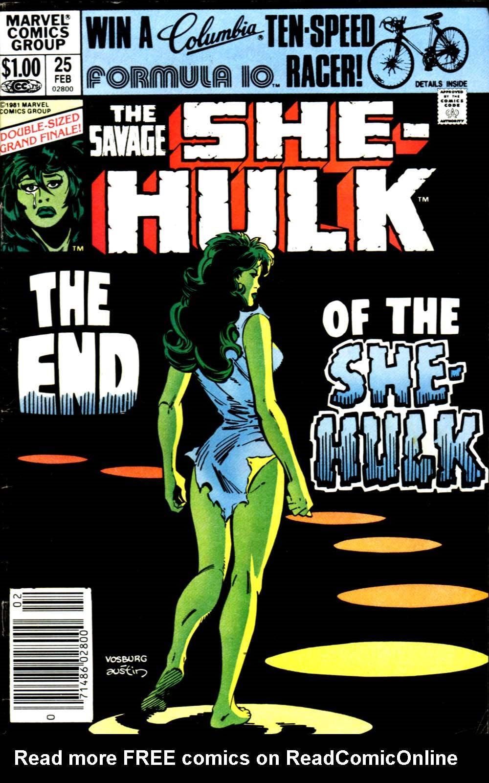 The Savage She-Hulk 25 Page 1