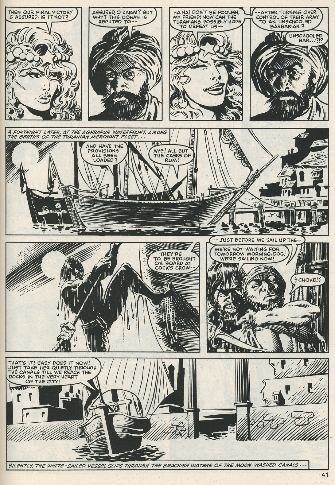 The Savage Sword Of Conan Issue #112 #113 - English 42
