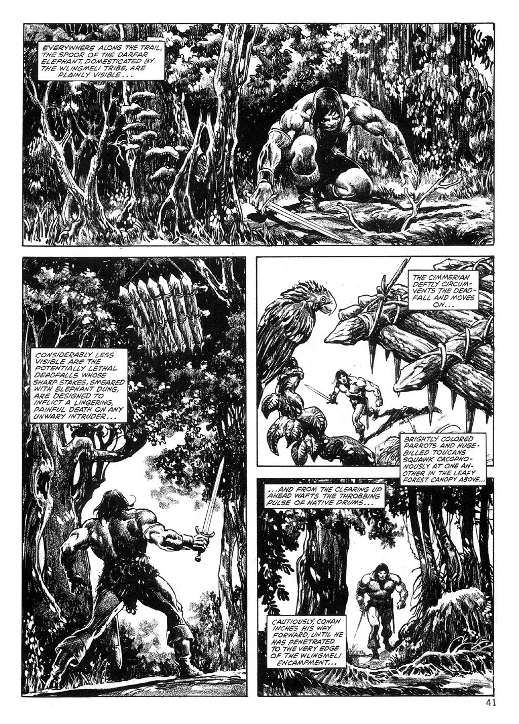 The Savage Sword Of Conan Issue #89 #90 - English 41