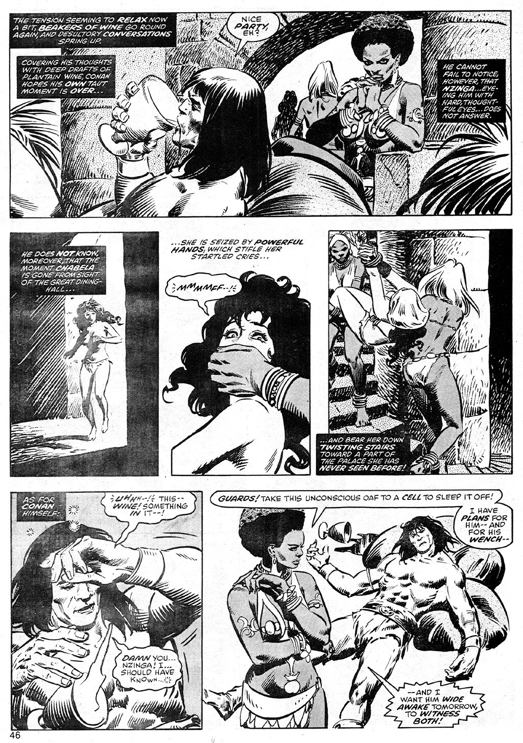 The Savage Sword Of Conan Issue #41 #42 - English 46