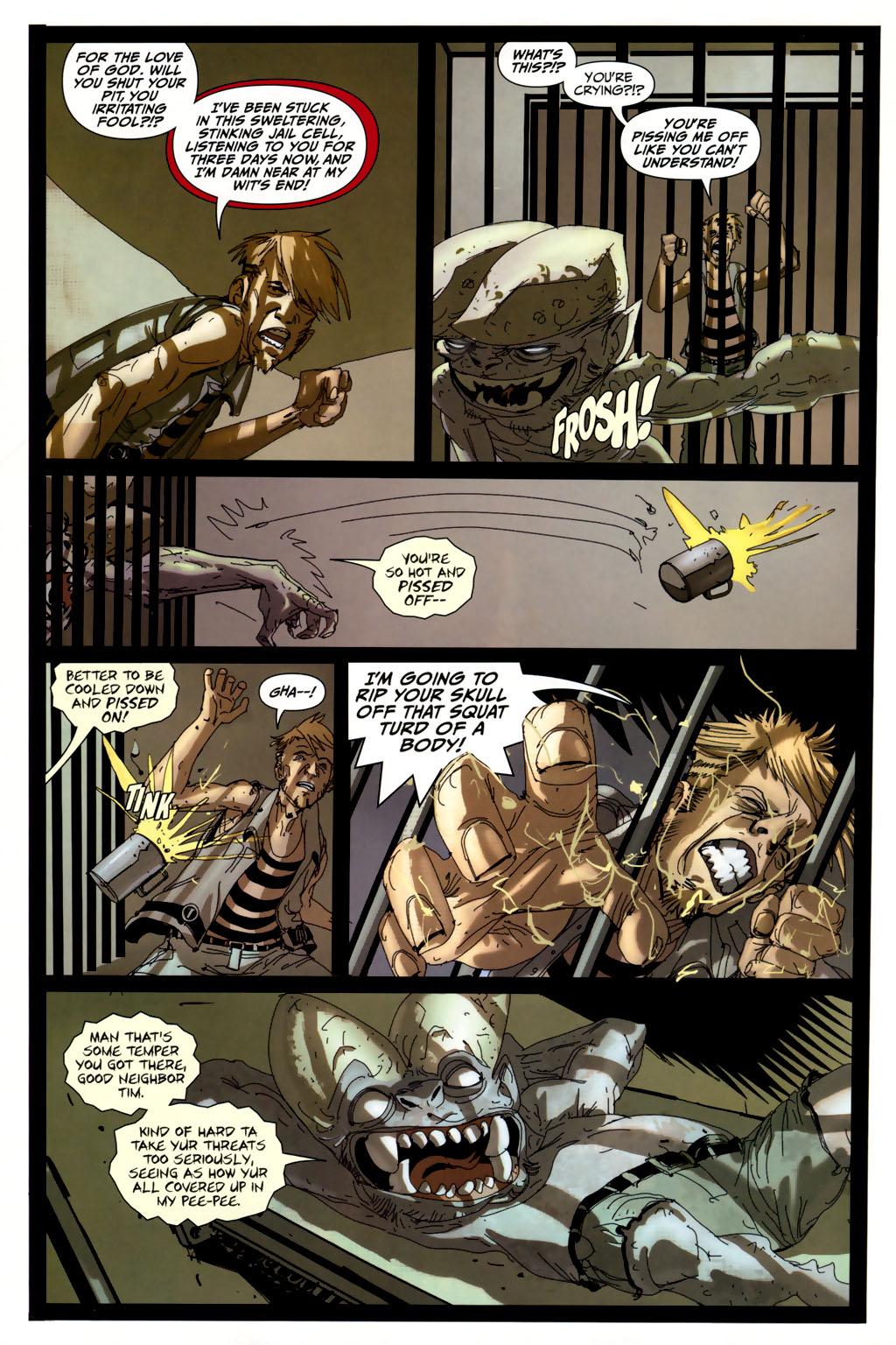 Read online Strange Girl comic -  Issue #6 - 4