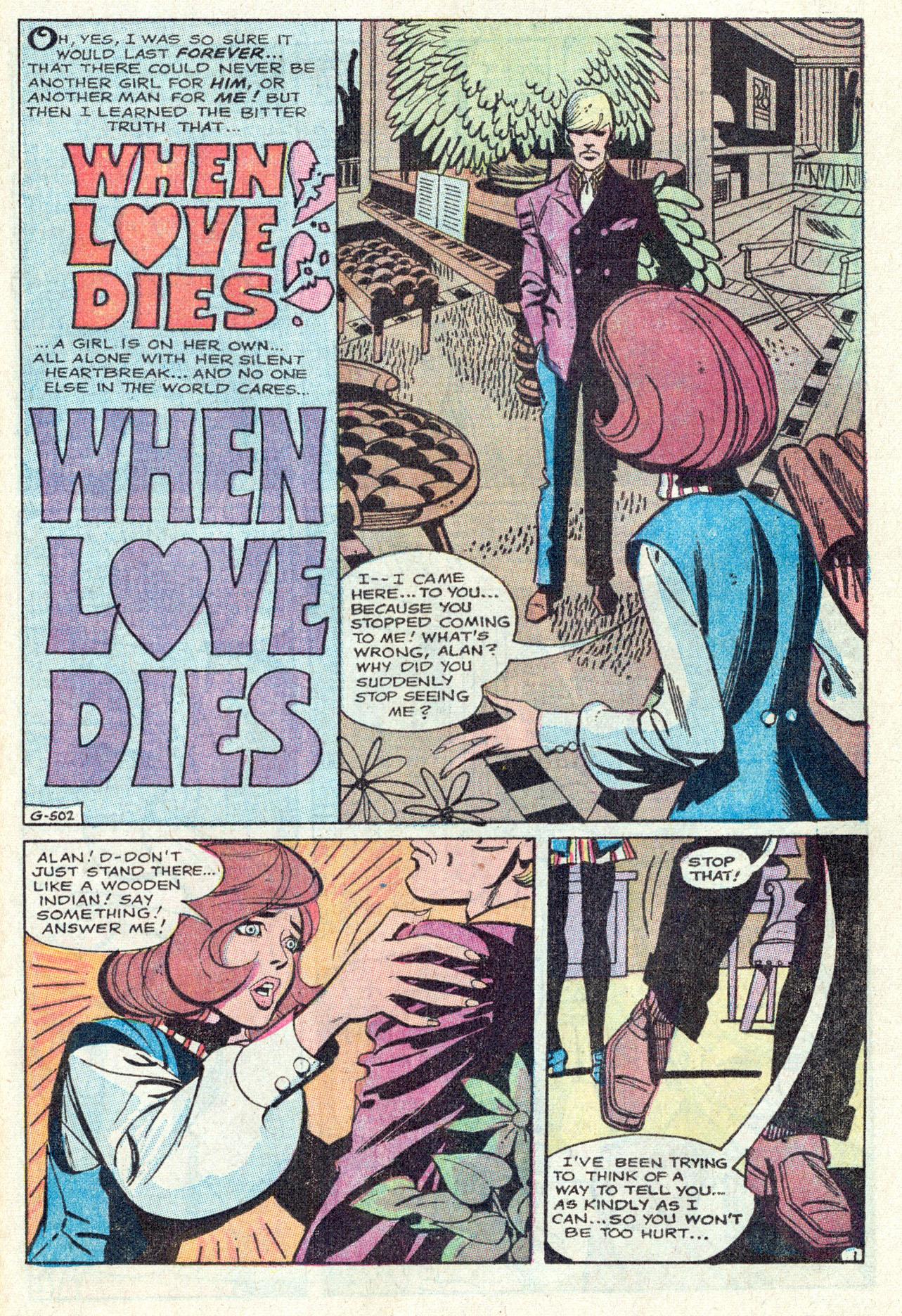 Read online Secret Hearts comic -  Issue #142 - 25
