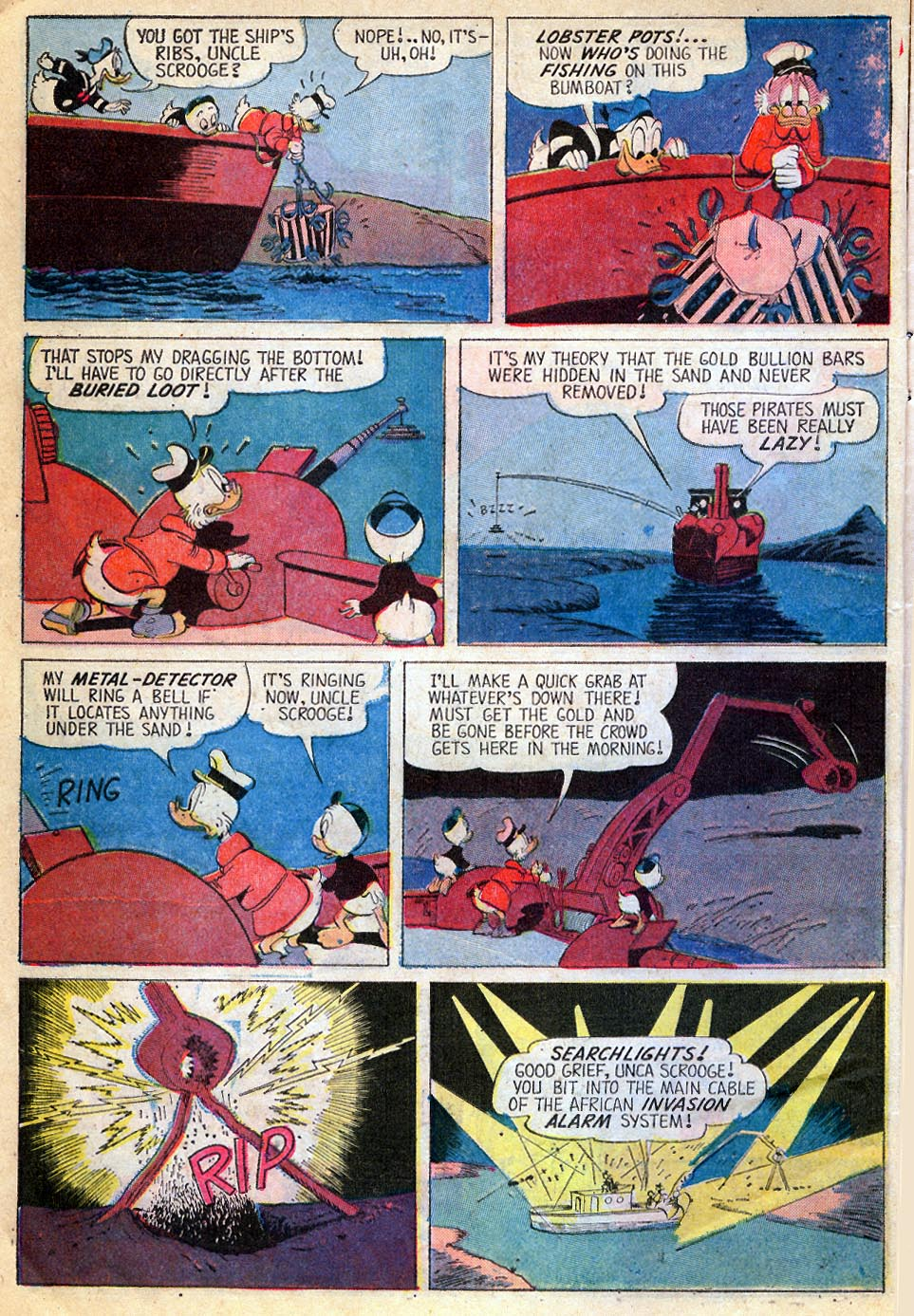Uncle Scrooge (1953) Issue #87 #87 - English 9