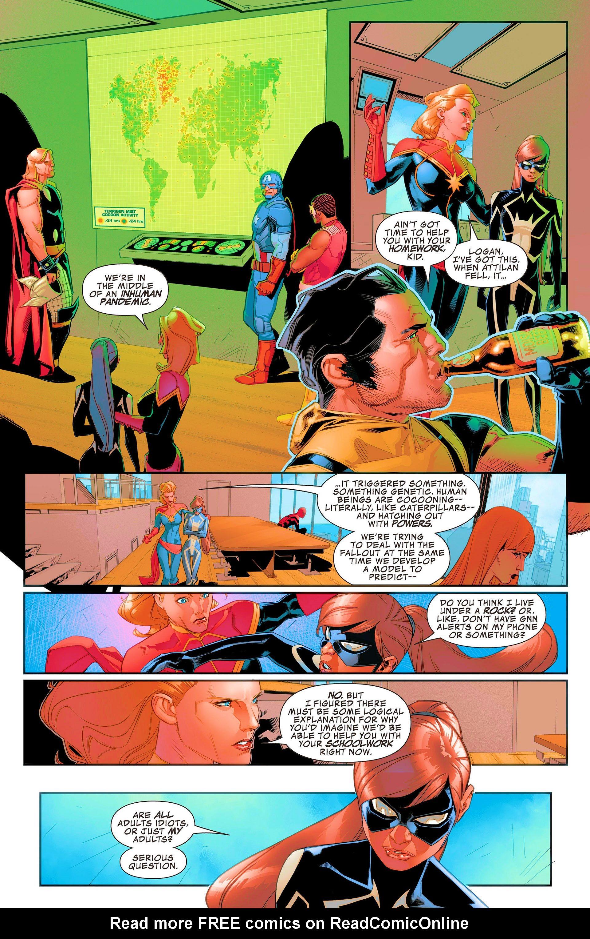 Read online Avengers Assemble (2012) comic -  Issue #21 - 8