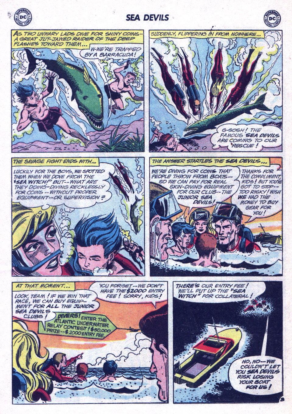 Read online Sea Devils comic -  Issue #14 - 20